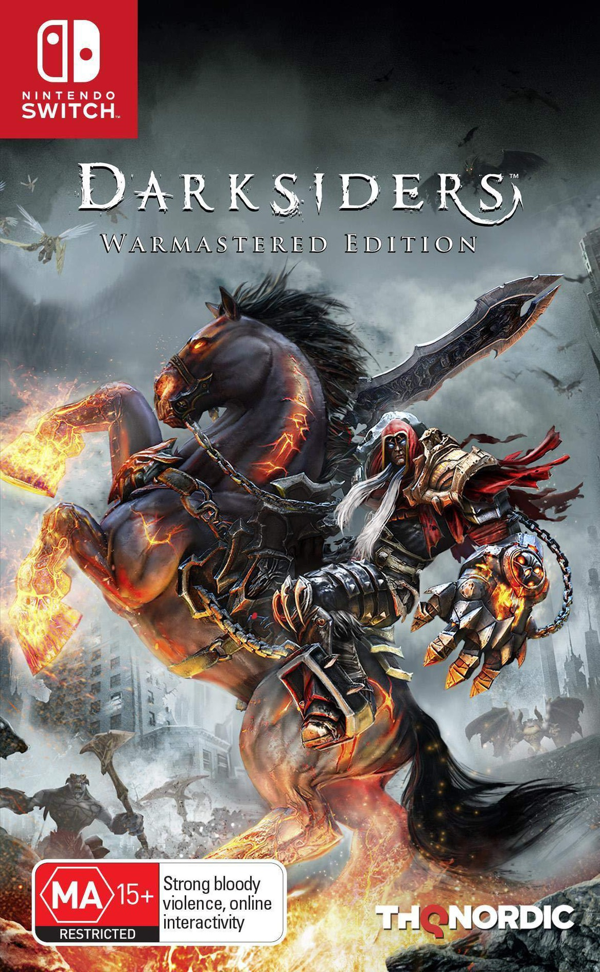 Darksiders - Warmastered Edition Switch coverHQ (ASFSA)