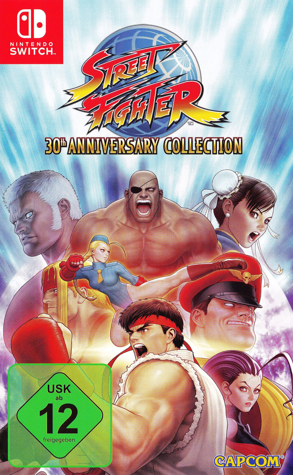 Street Fighter™ 30th Anniversary Collection Switch coverHQ (AK6JA)