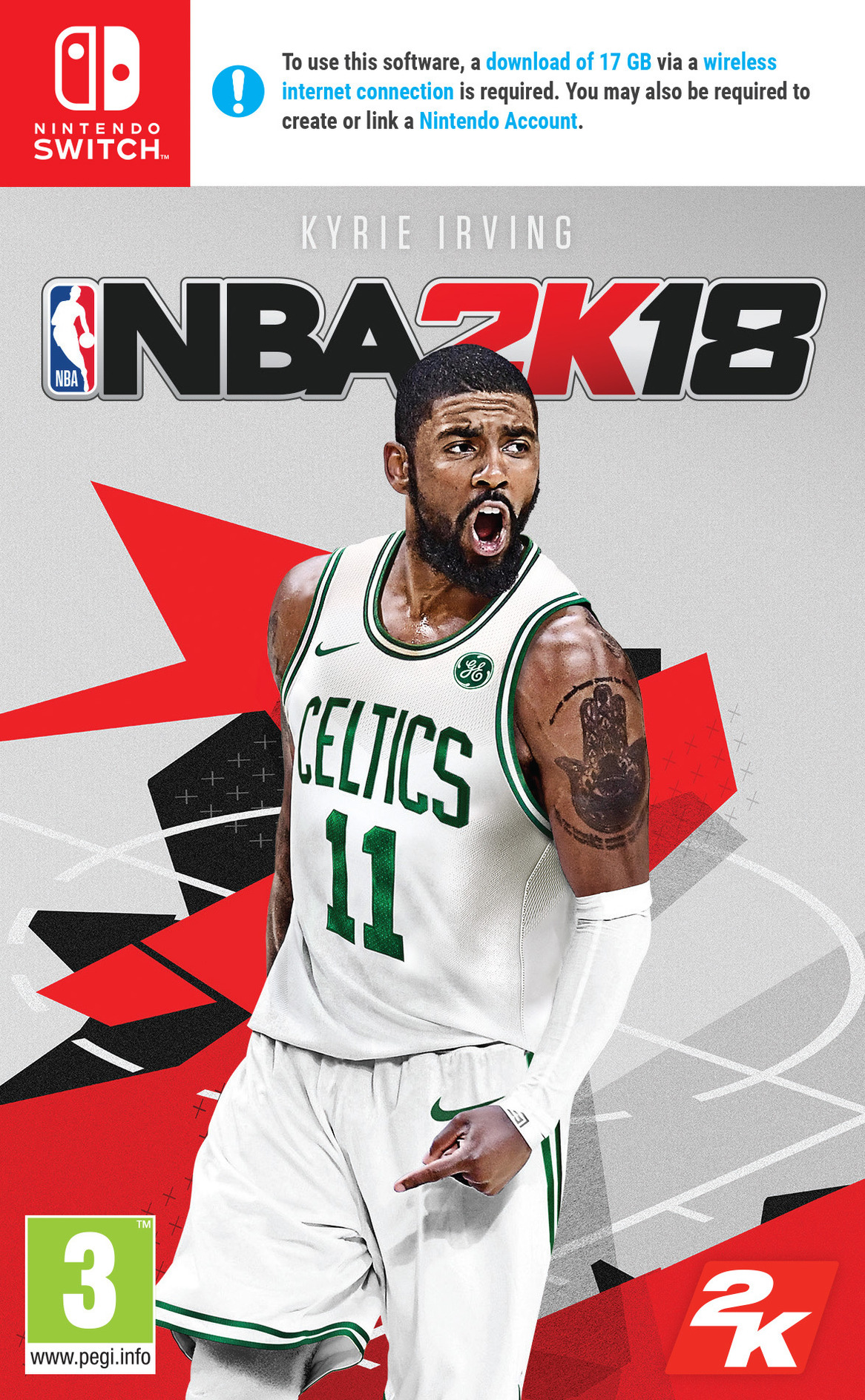 NBA 2K18 Switch coverHQ (AB38A)