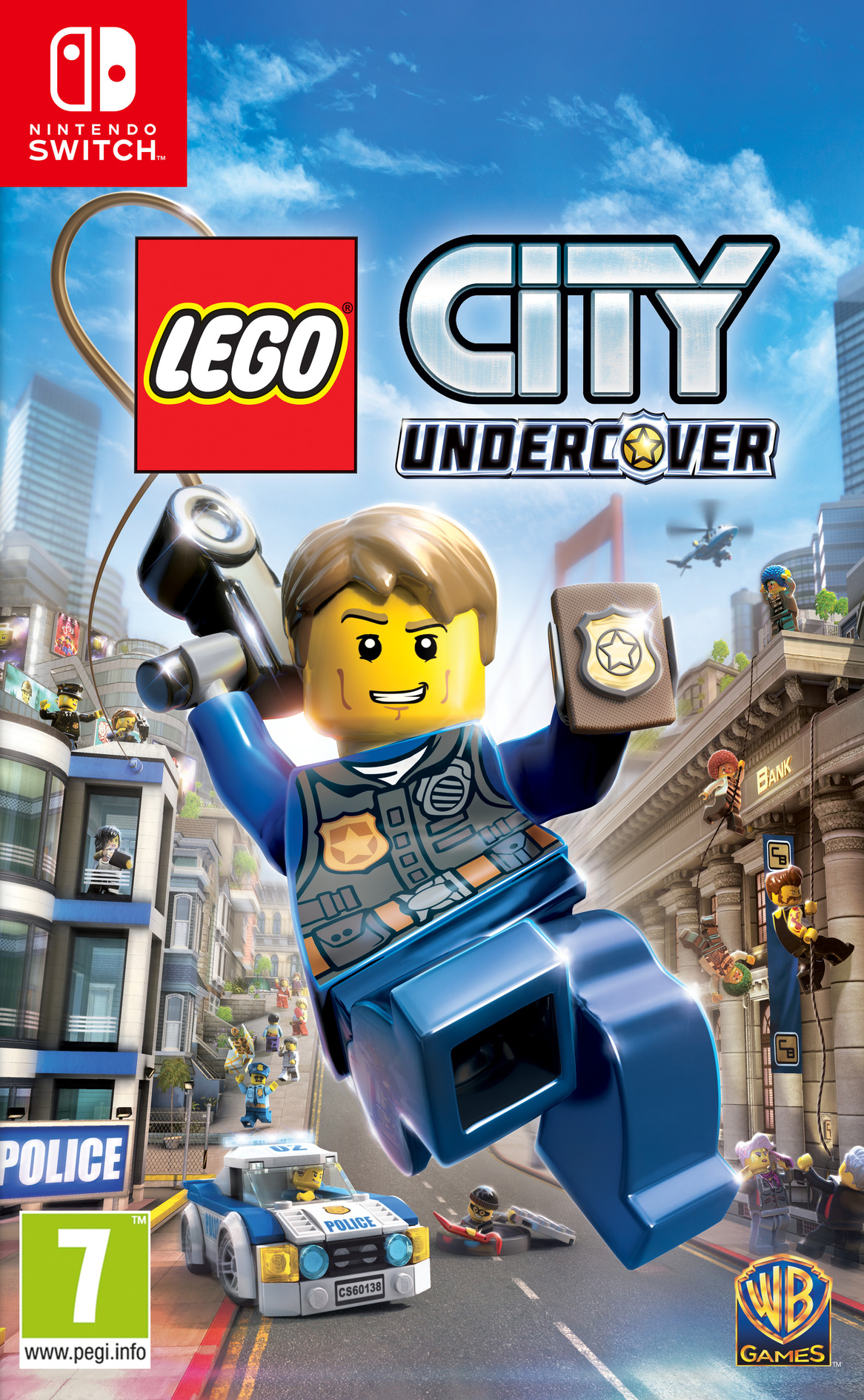 LEGO City Undercover Switch coverHQ (ABM2B)