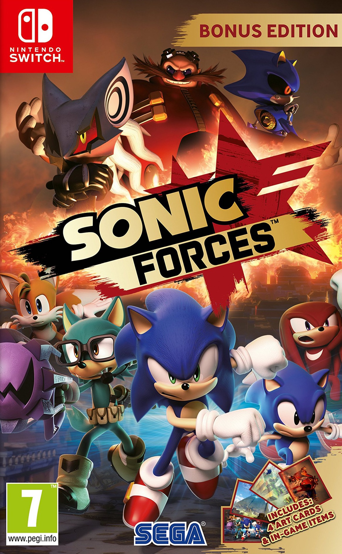 Sonic Forces Switch coverHQ (ABQLB)