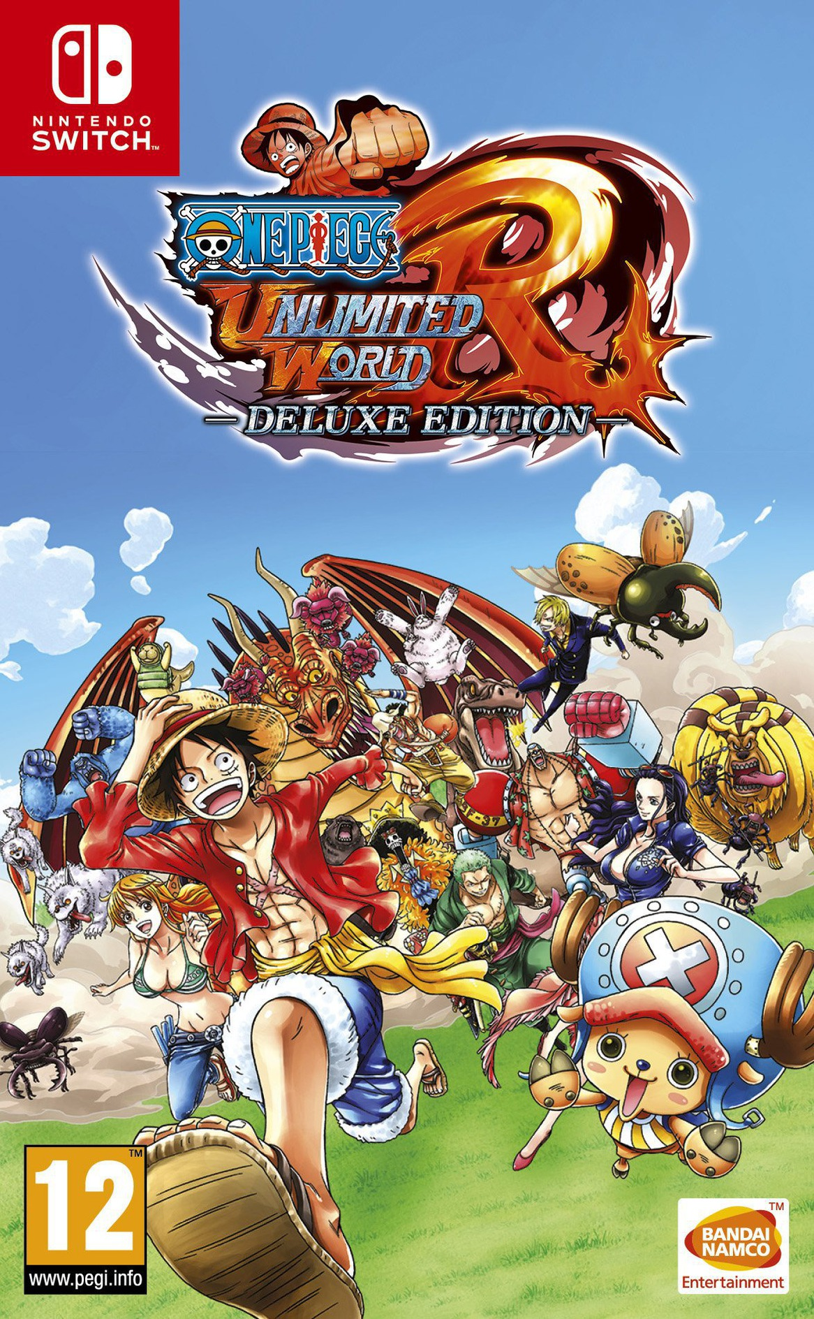 One Piece: Unlimited World R Deluxe Edition Switch coverHQ (ACL9A)