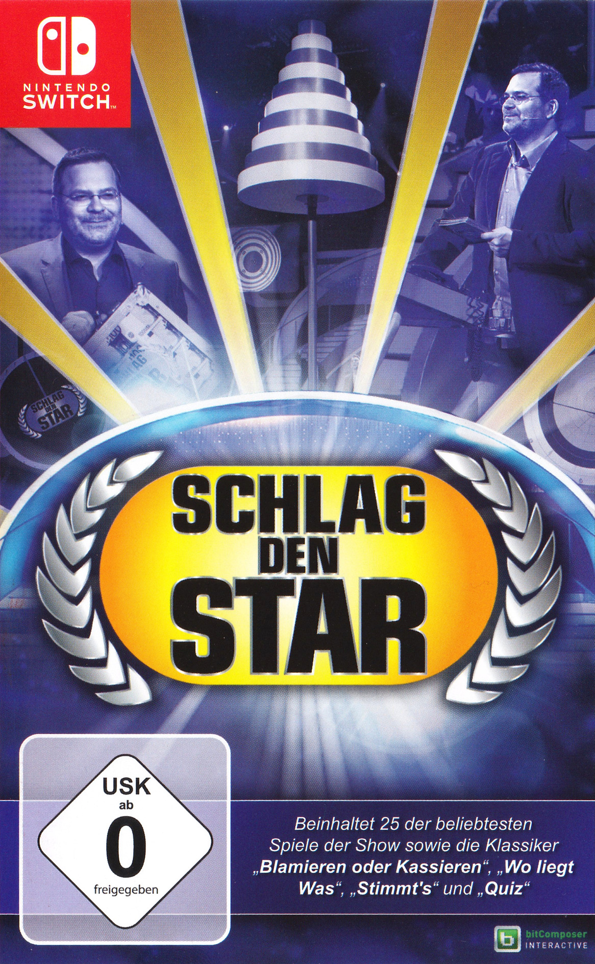 Schlag den Star - Das Spiel Switch coverHQ (AD82A)