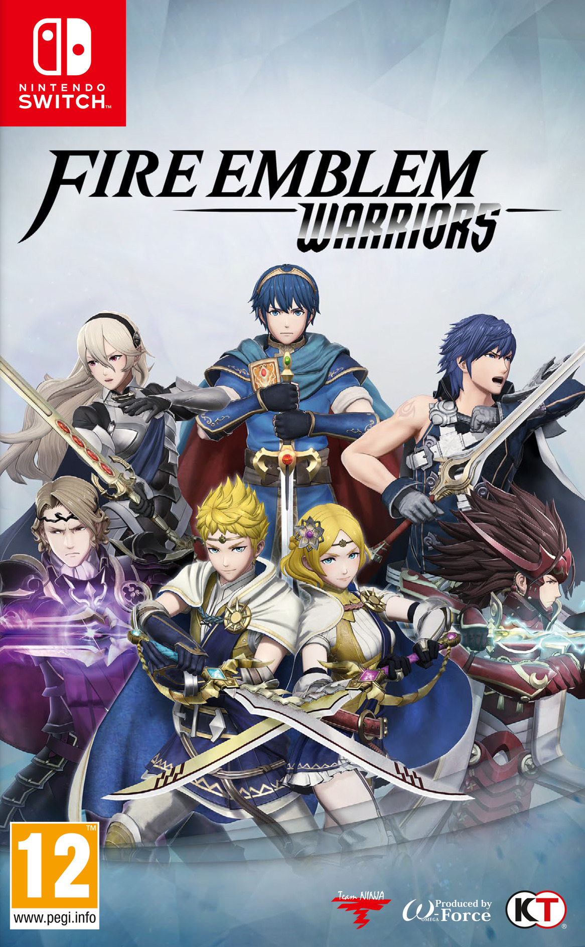 Fire Emblem Warriors Switch coverHQ (ADXHB)