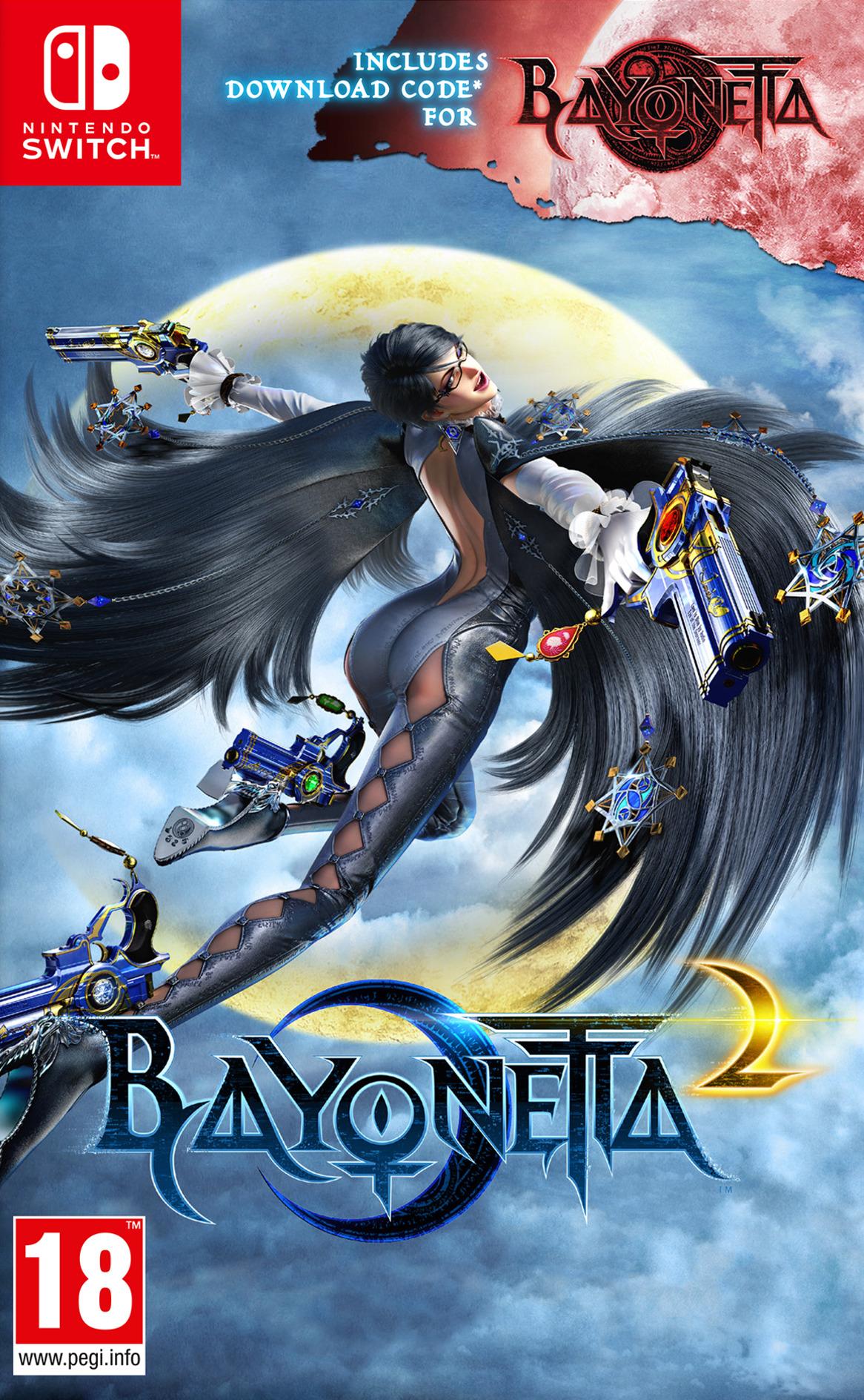 Bayonetta 2 Switch coverHQ (AE98A)
