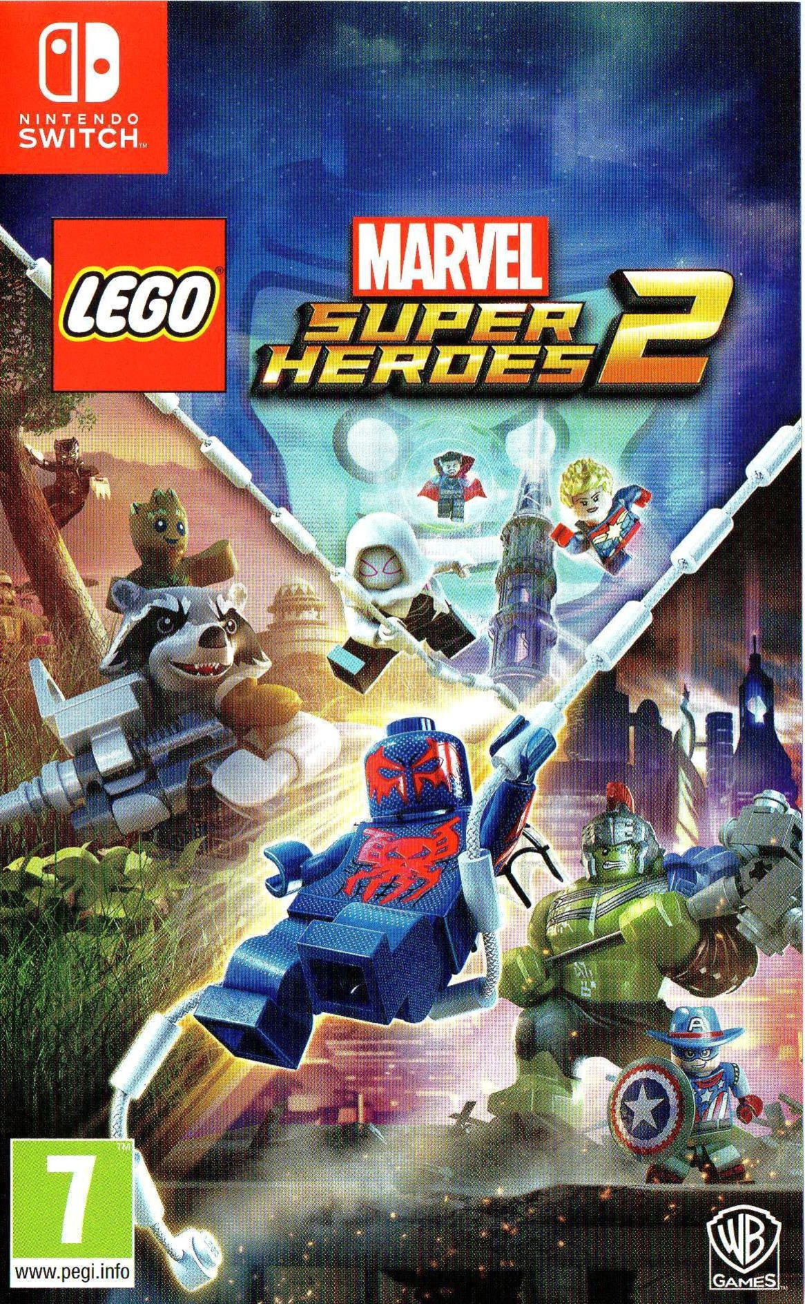 LEGO Marvel Super Heroes 2 Switch coverHQ (AEANB)