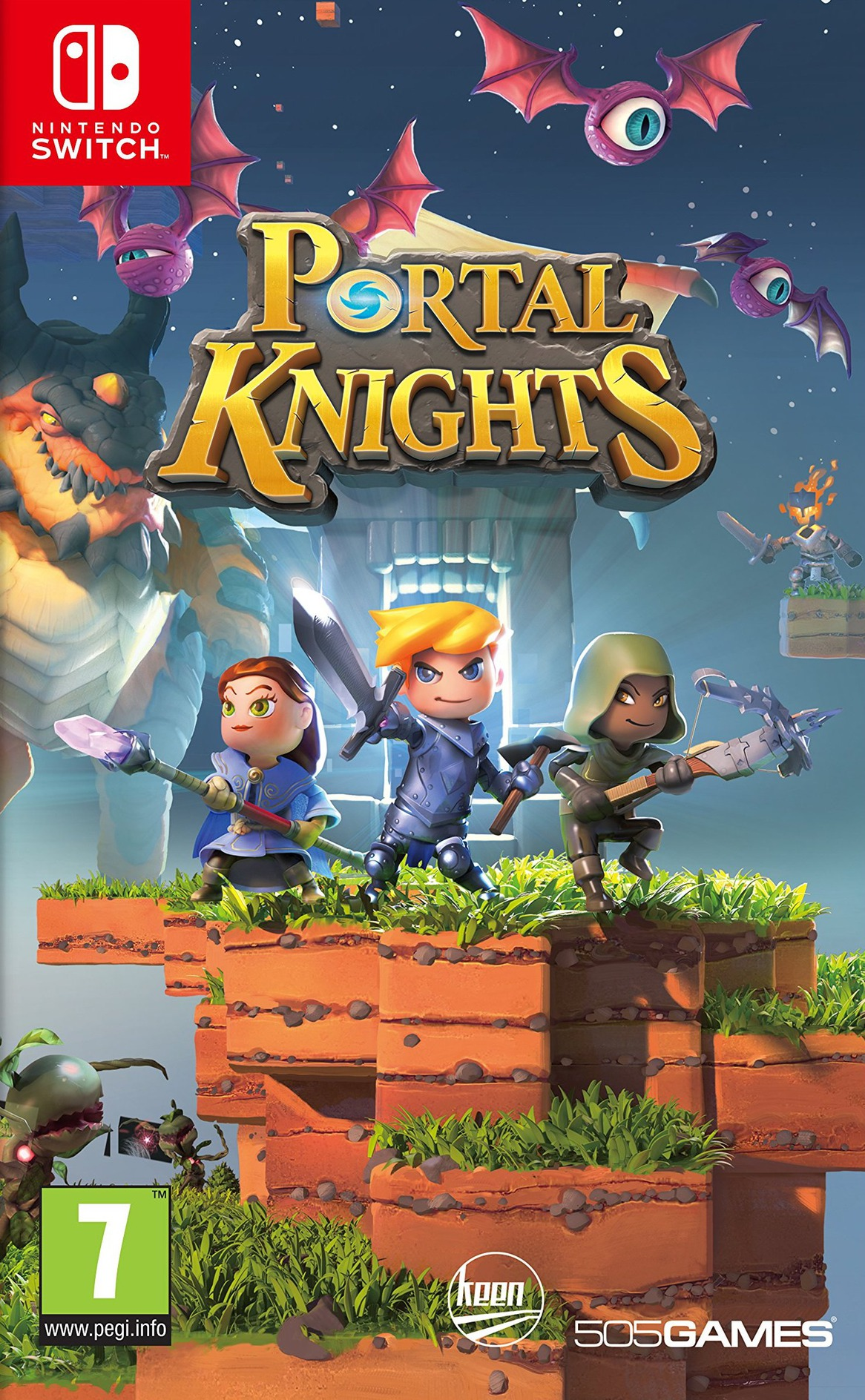 Portal Knights Switch coverHQ (AECYA)