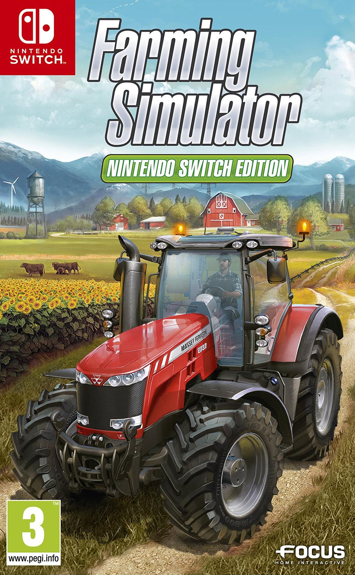 Farming Simulator: Nintendo Switch Edition Switch coverHQ (AESEA)