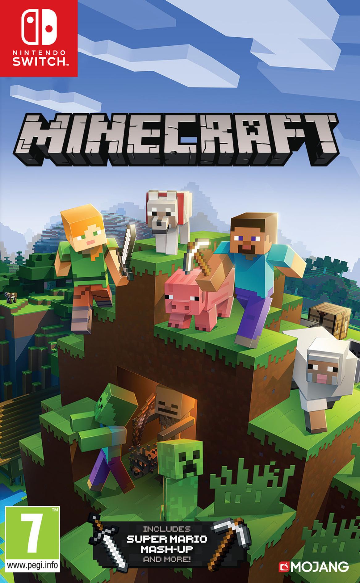 Minecraft Switch coverHQ (AEUCA)
