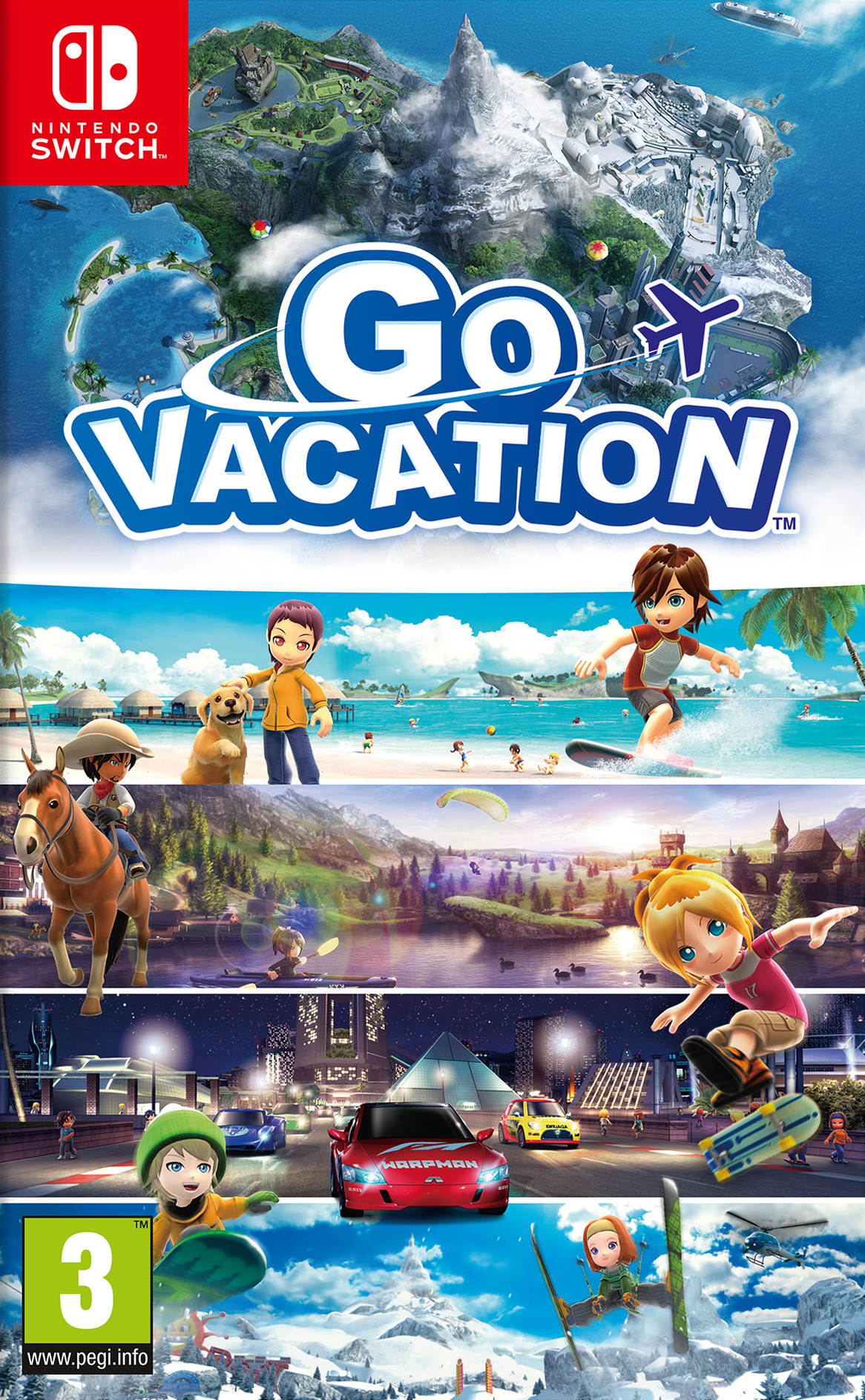Go Vacation Switch coverHQ (AF2GB)