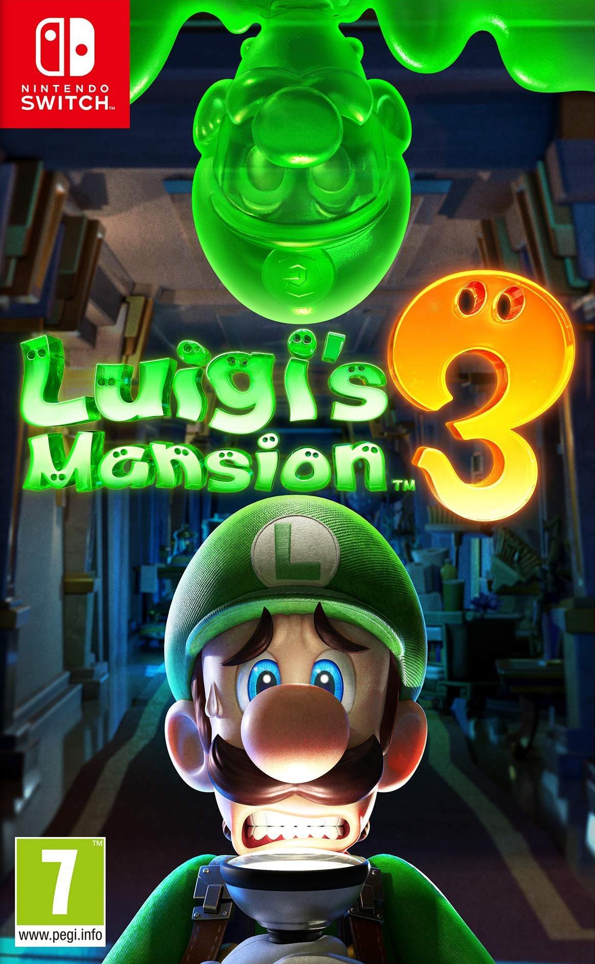Luigi's Mansion 3 Switch coverHQ (AG3JA)
