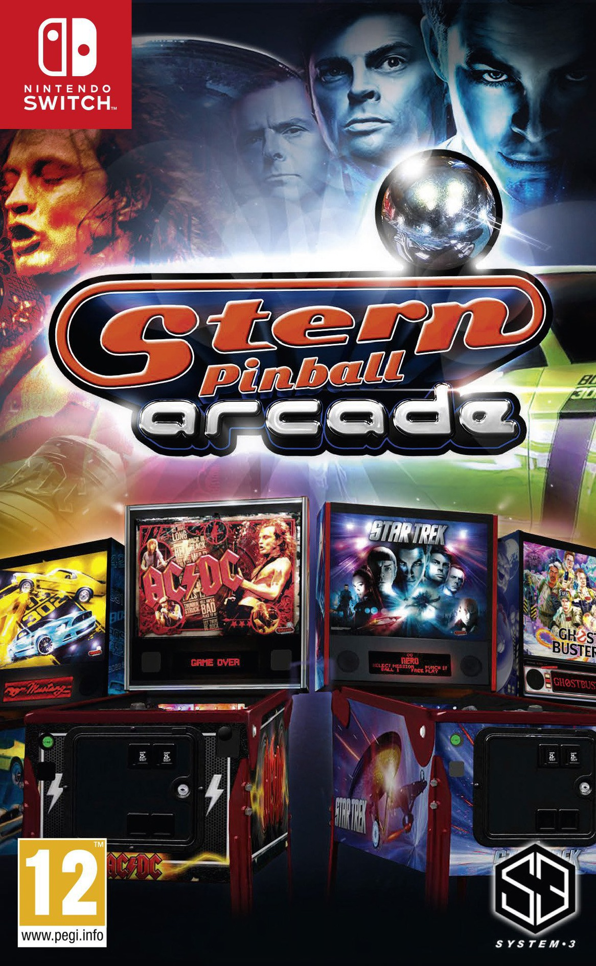 Stern Pinball Arcade Switch coverHQ (AGLQA)