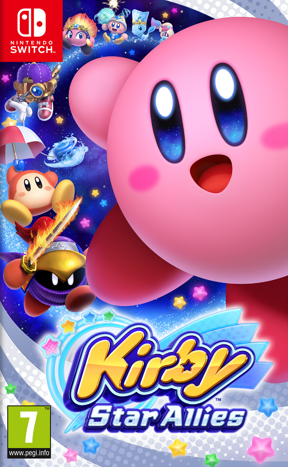 Kirby Star Allies Switch coverHQ (AH26A)
