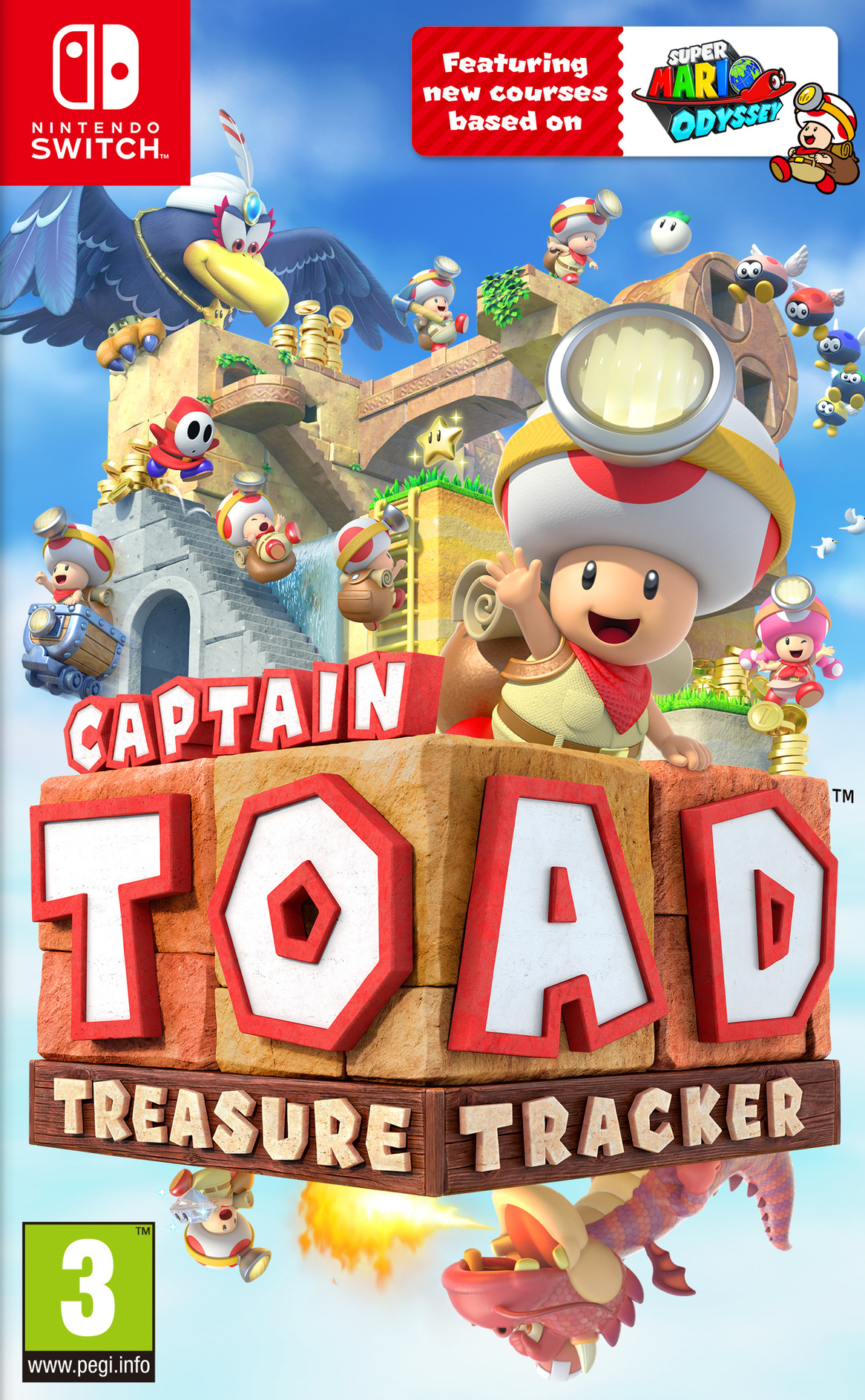 Captain Toad: Treasure Tracker Switch coverHQ (AJH9A)
