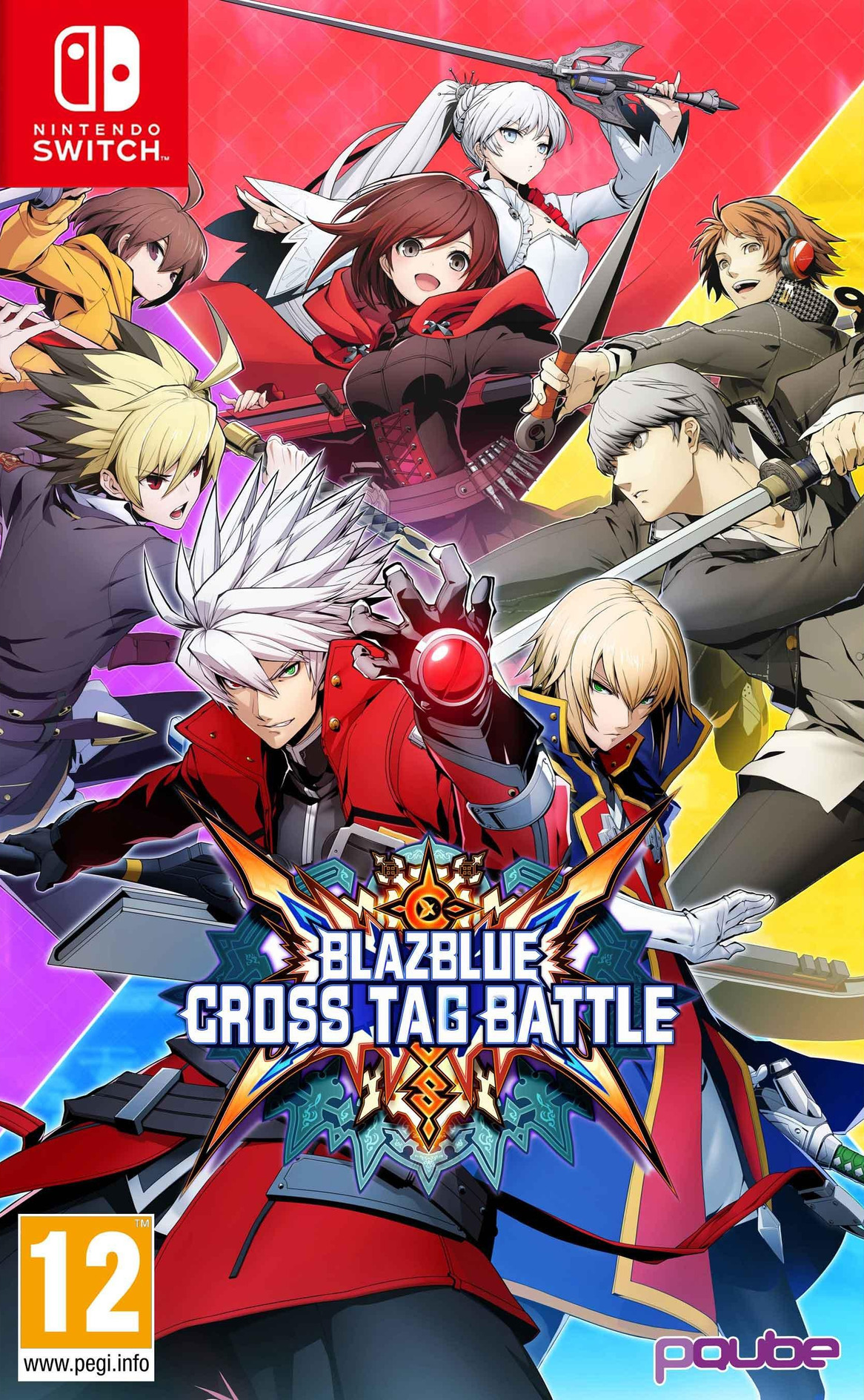 BlazBlue - Cross Tag Battle Switch coverHQ (AK4CA)