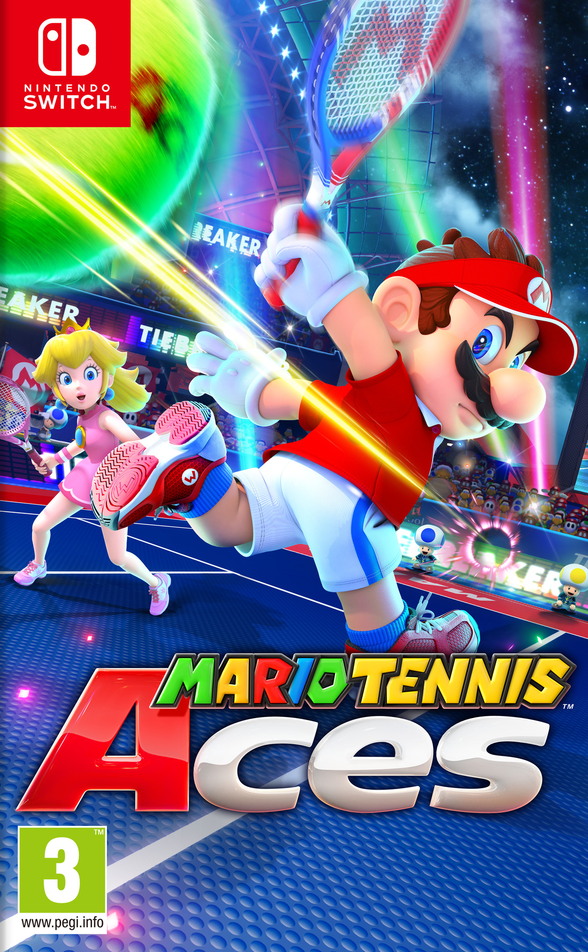 Mario Tennis Aces Switch coverHQ (ALERA)