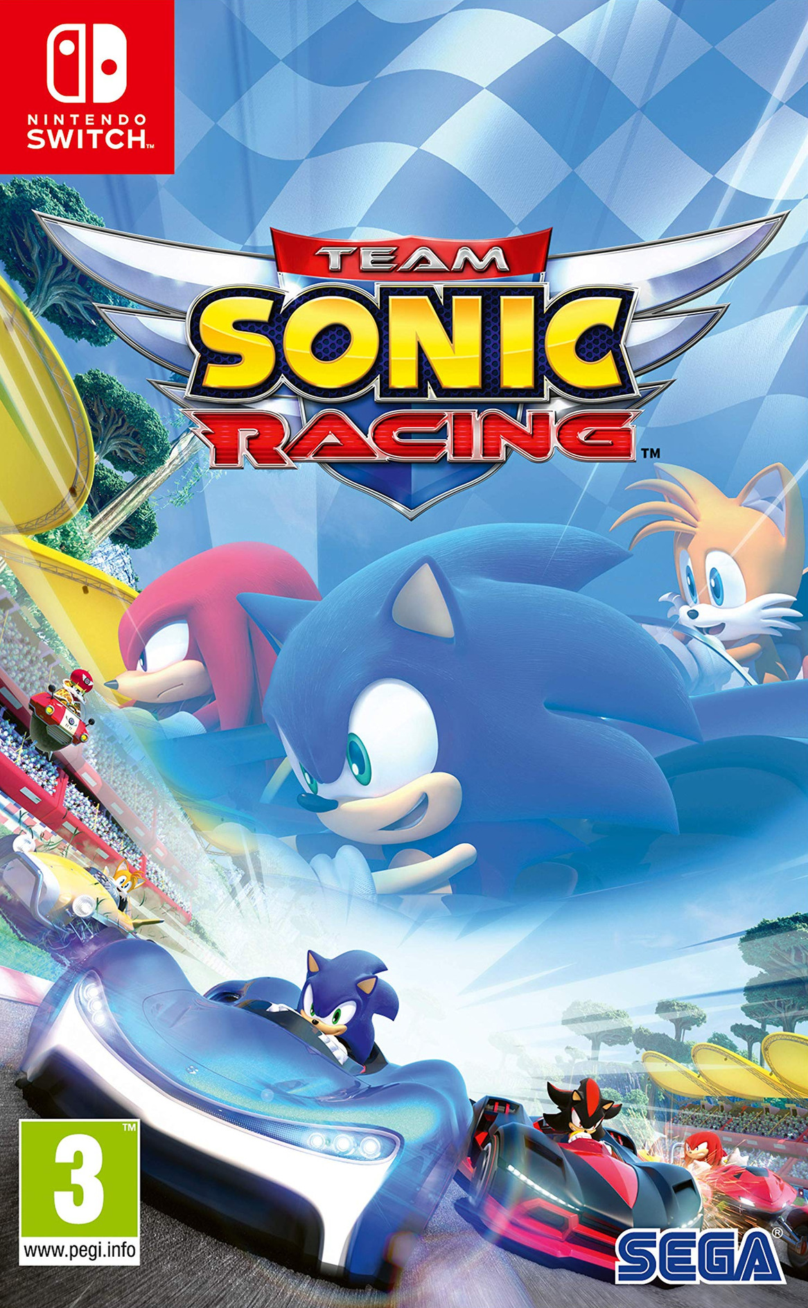 Team Sonic Racing Switch coverHQ (AMKCB)