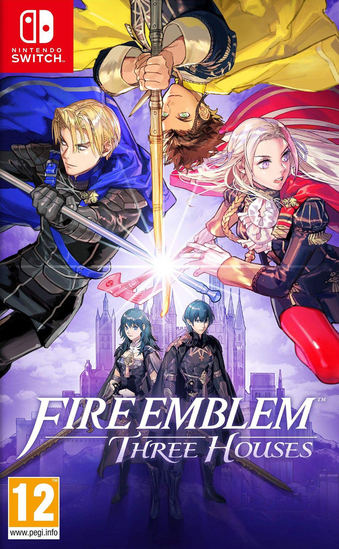Fire Emblem: Three Houses Switch coverHQ (ANVYA)