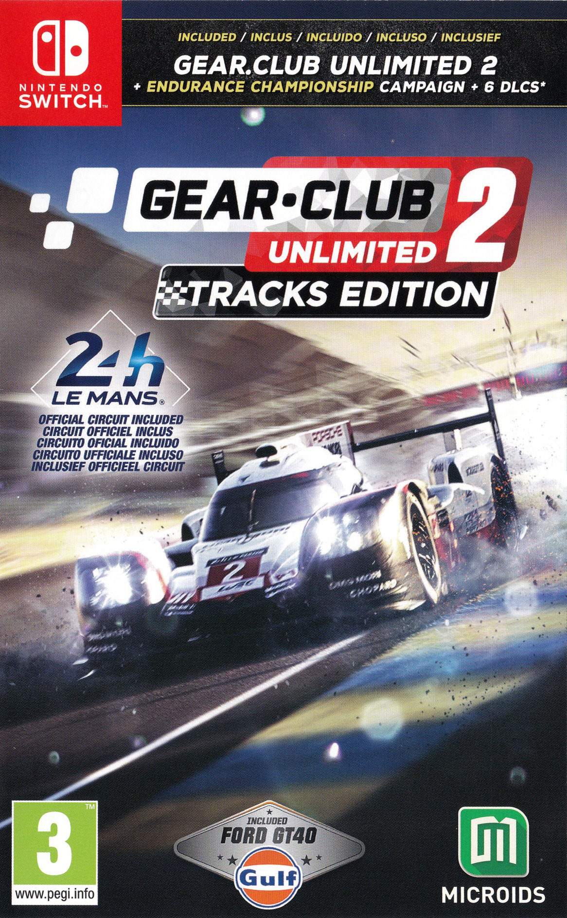 Gear.Club Unlimited 2 Switch coverHQ (AP6TA)