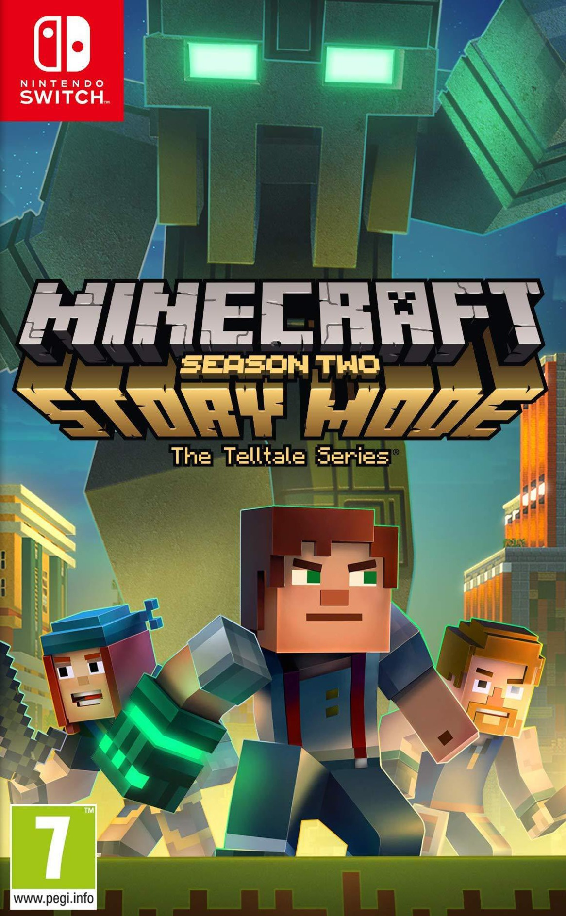 Minecraft - Story Mode - Season Two Switch coverHQ (APFZA)