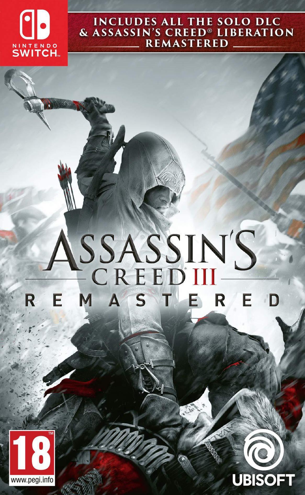 Assassin's Creed III Remastered Switch coverHQ (AQAJA)