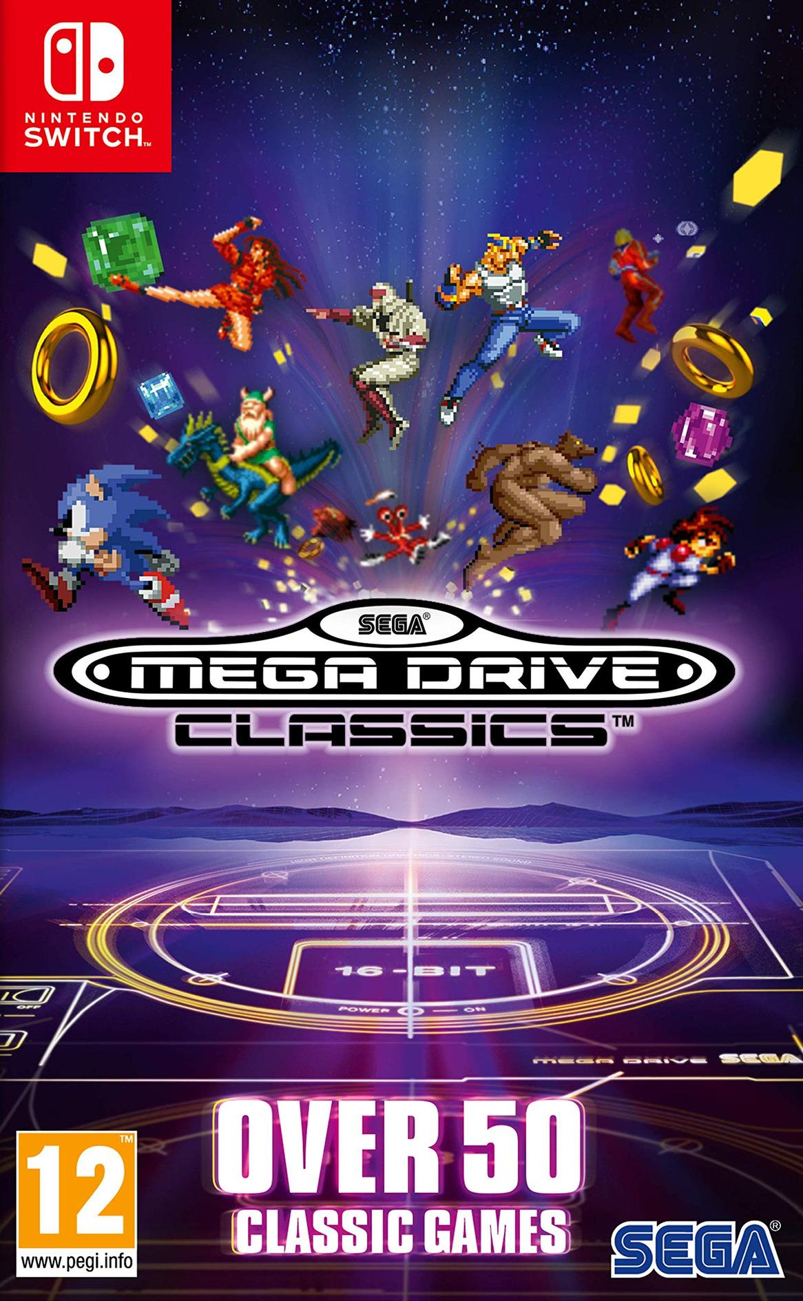 SEGA Mega Drive Classics Switch coverHQ (AQGKA)