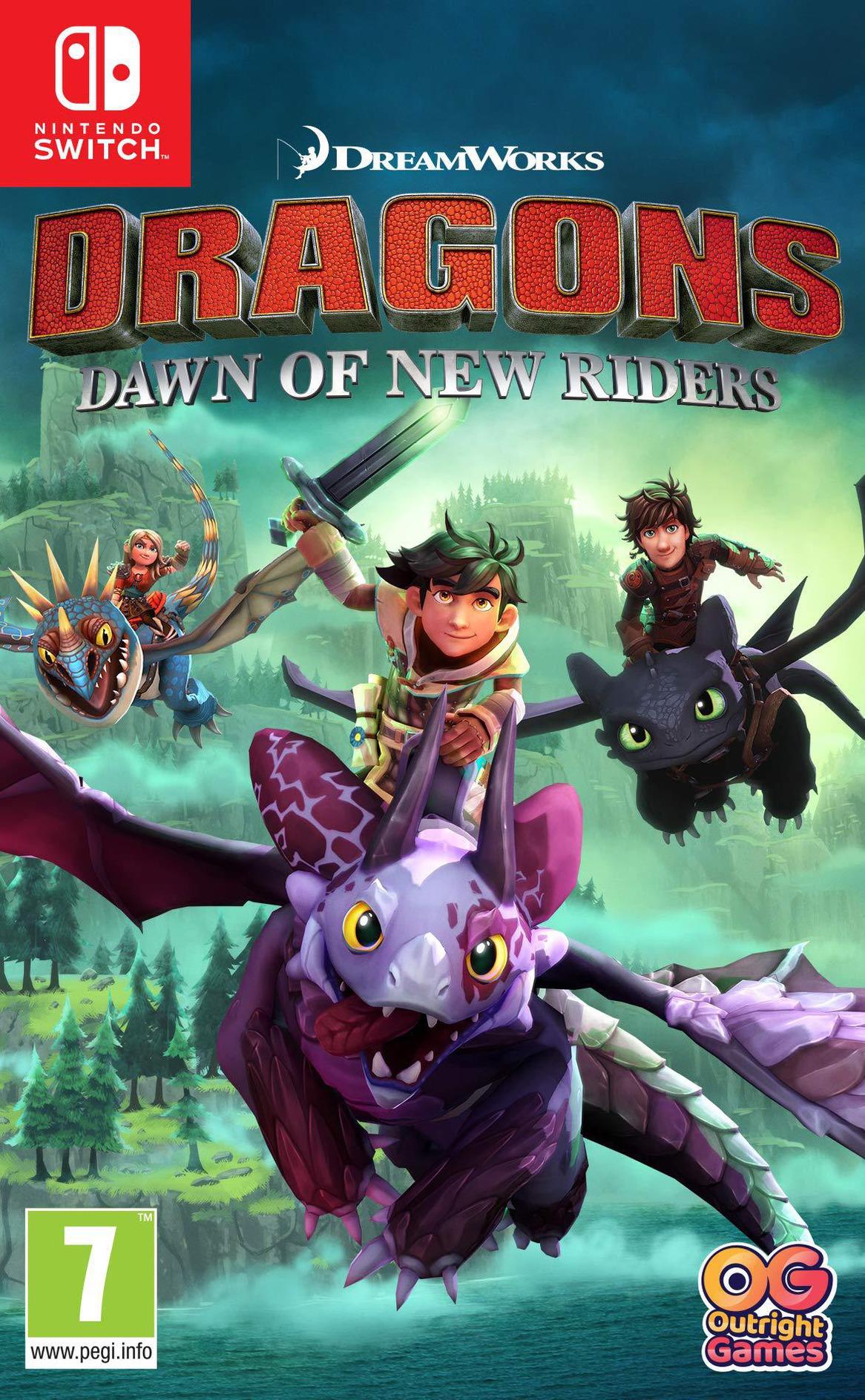 Dragons - Dawn of New Riders Switch coverHQ (AQTMA)