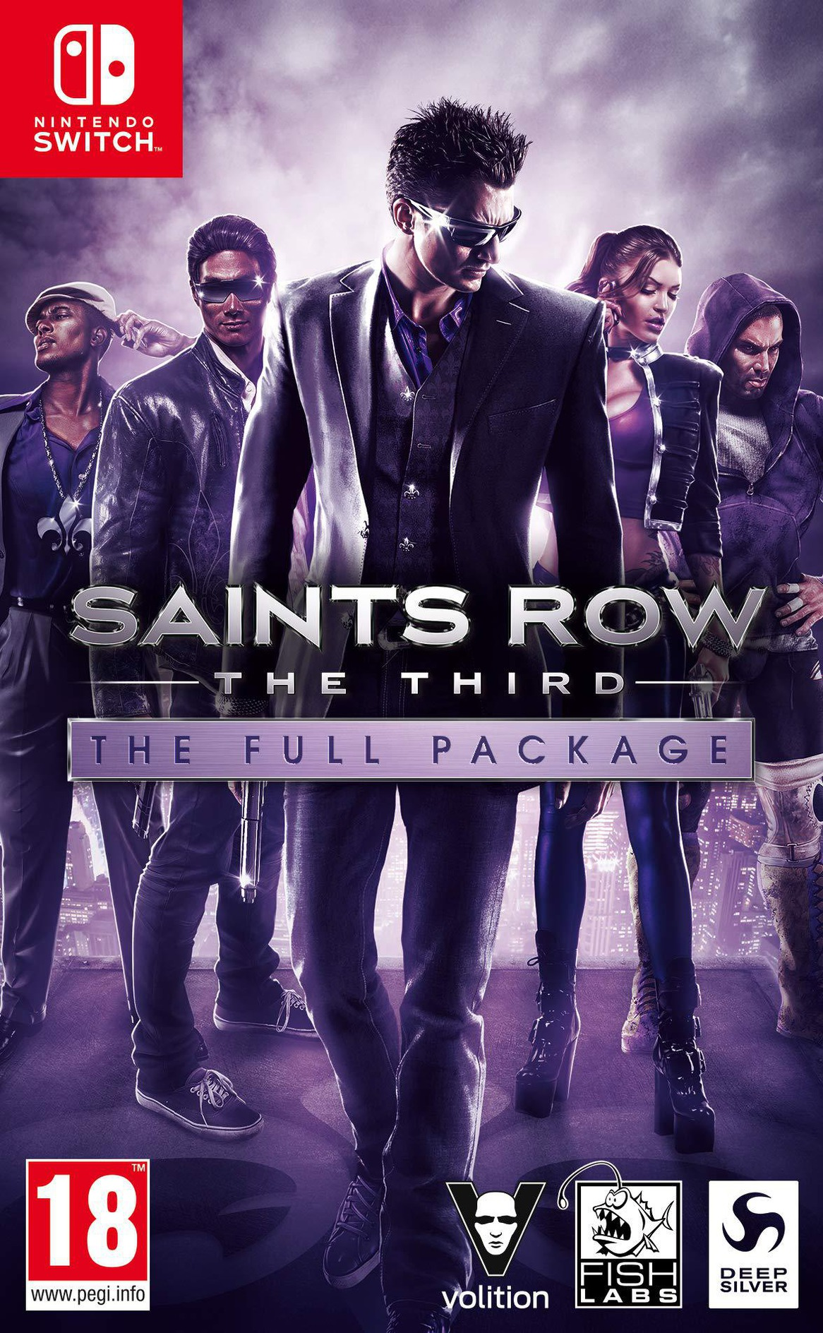 Saints Row: The Third - The Full Package Switch coverHQ (ARGWA)