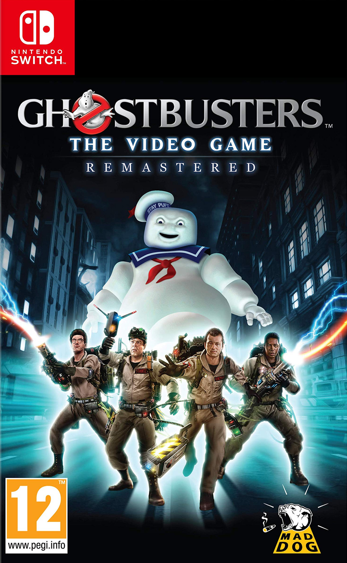 Ghostbusters The Video Game Remastered Switch coverHQ (ATKGA)