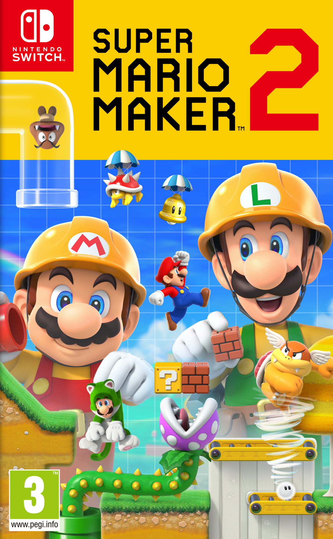 Super Mario Maker 2 Switch coverHQ (BAAQA)