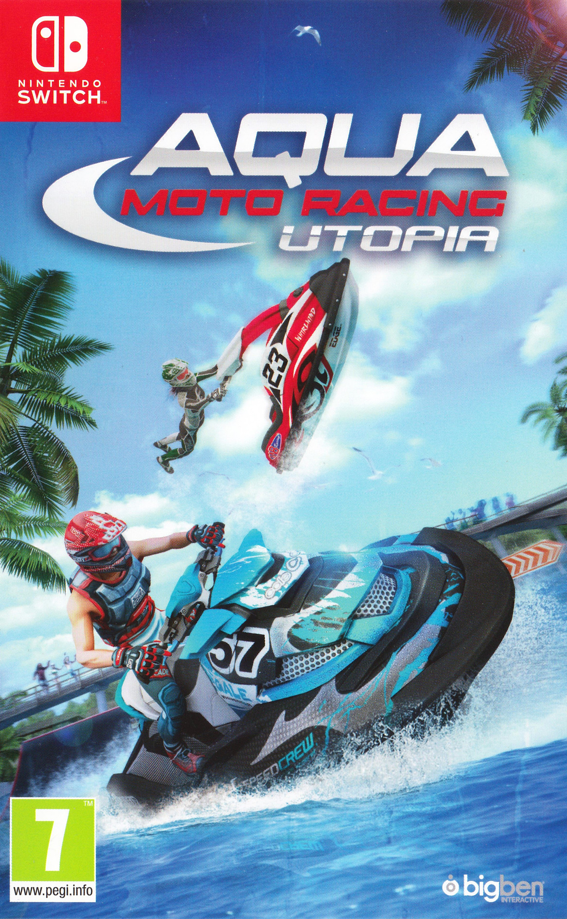 Aqua Moto Racing Utopia Switch coverHQ (AFVVA)