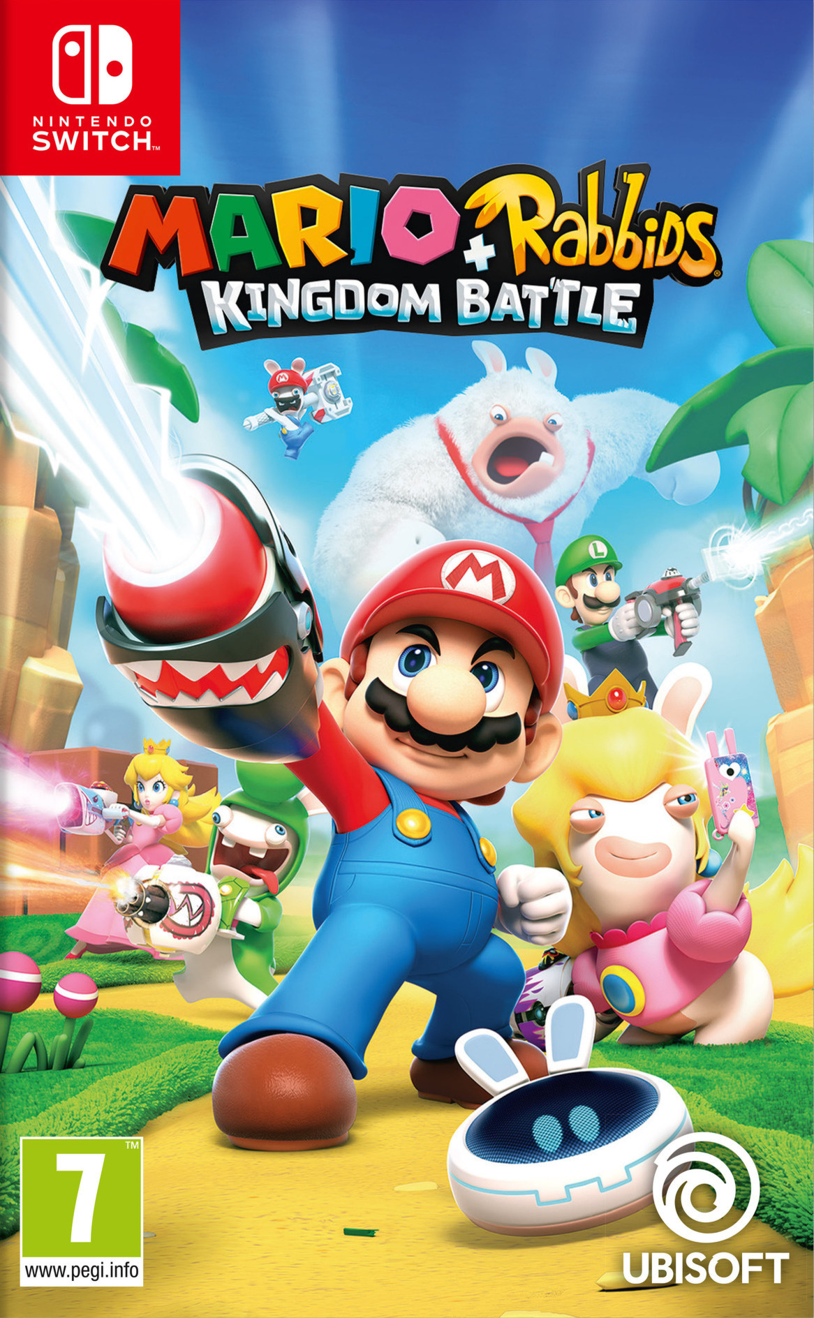 Mario + Rabbids Kingdom Battle Switch coverHQ (BAANA)