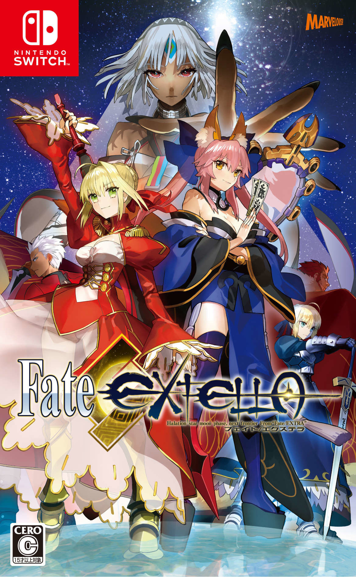 Fate/EXTELLA (フェイト/エクステラ) Switch coverHQ (AC8QA)