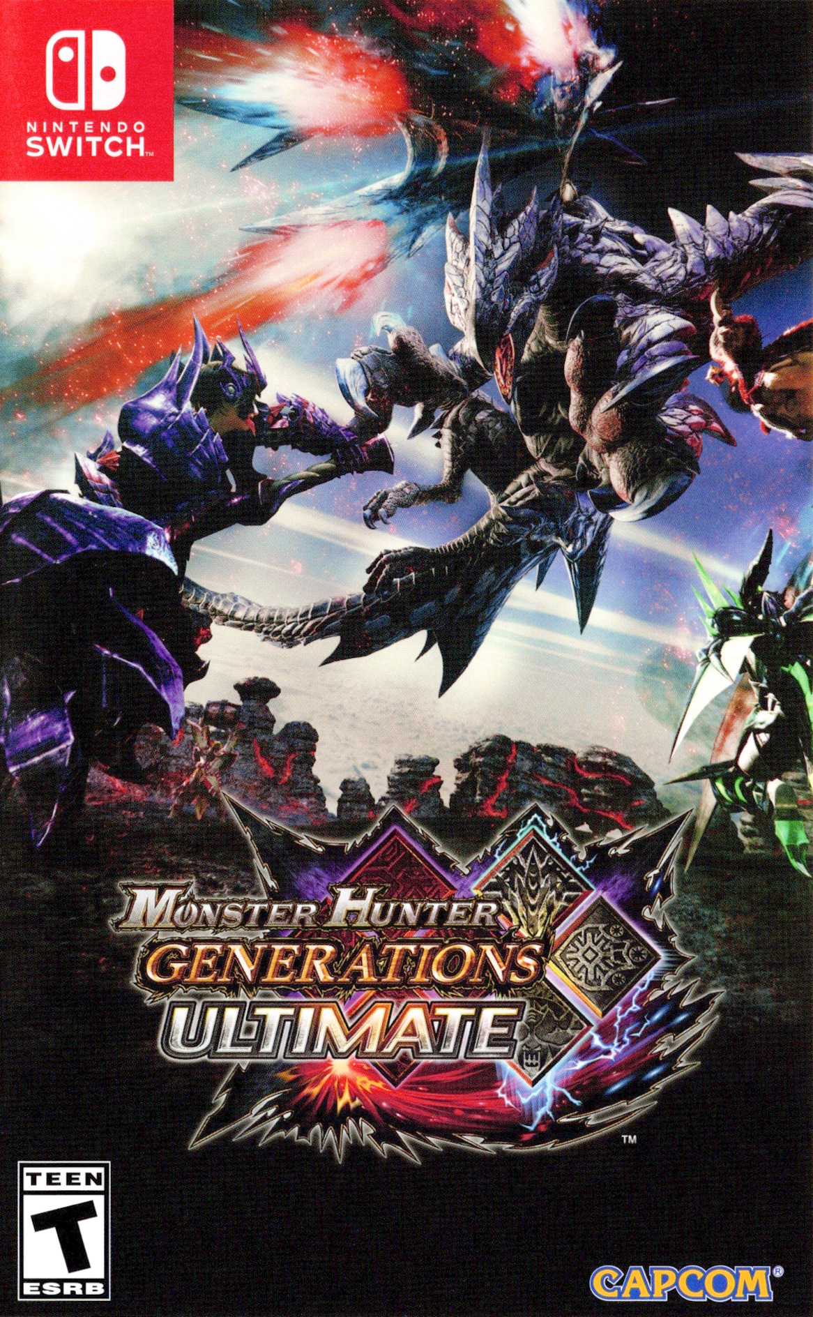 Monster Hunter - Generations - Ultimate Switch coverHQ (AAB7B)