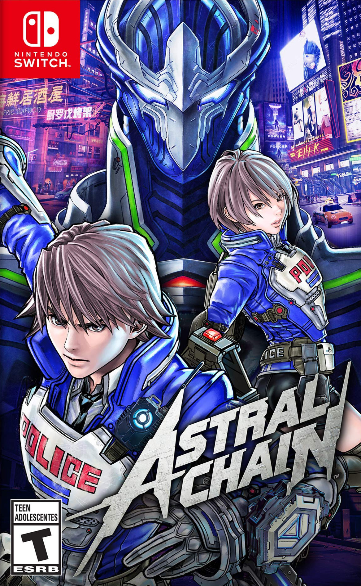 Astral Chain Switch coverHQ (AB48A)