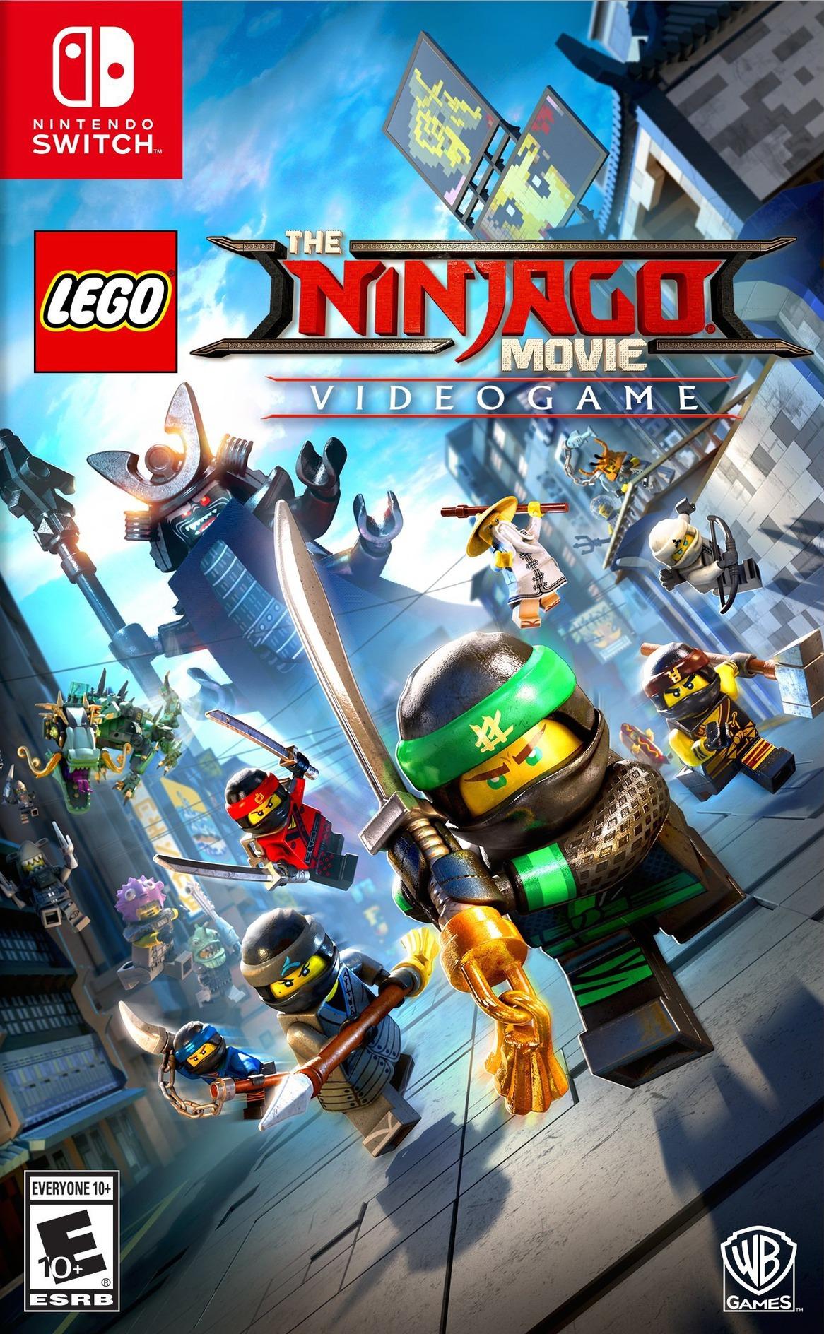 The LEGO NINJAGO Movie Video Game Switch coverHQ (AB4JA)