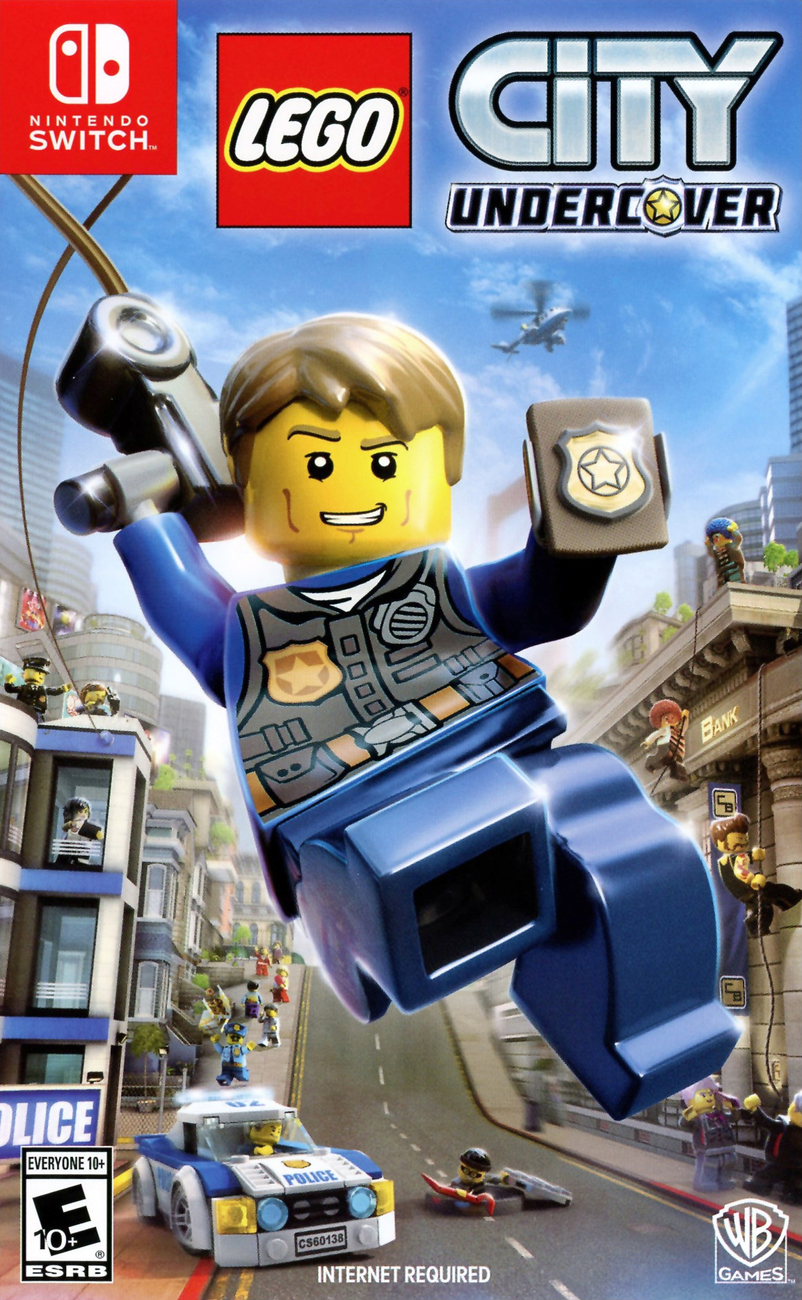 LEGO City Undercover Switch coverHQ (ABM2A)