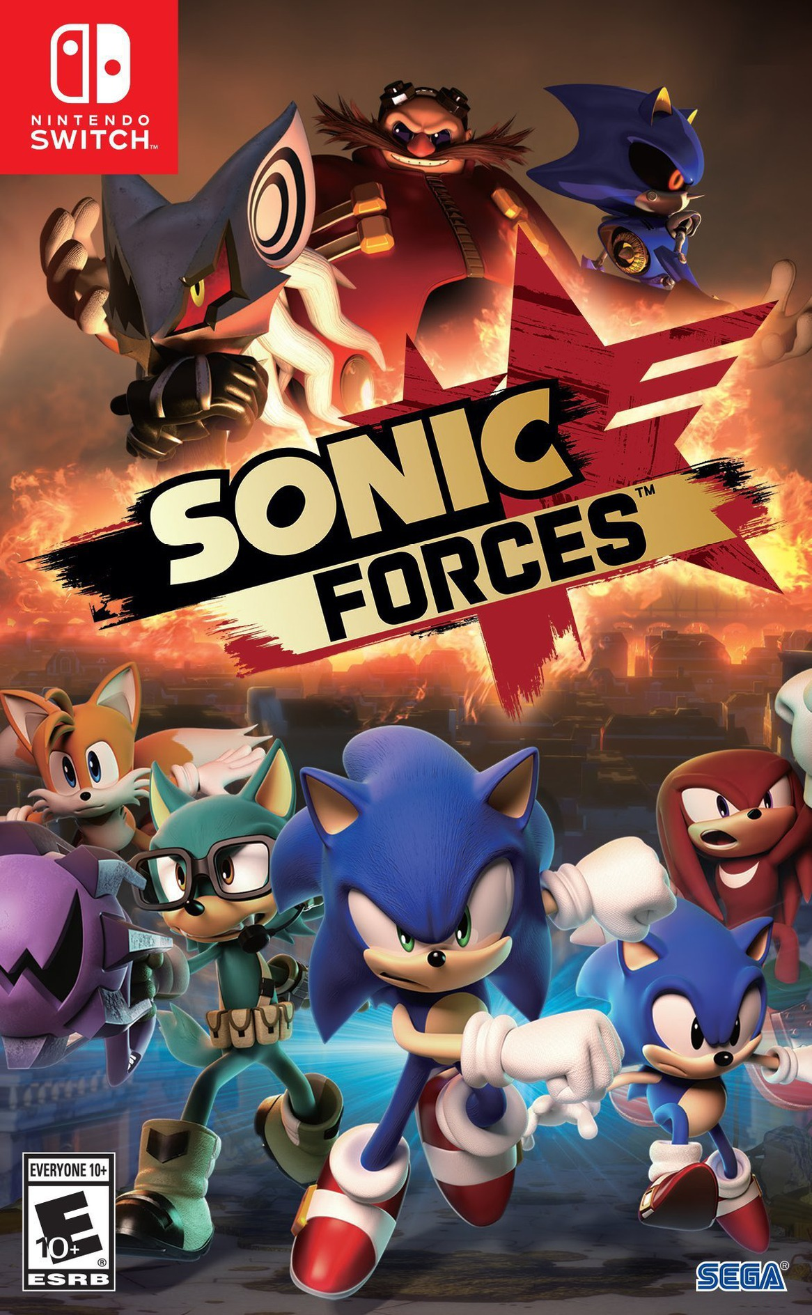 Sonic Forces Switch coverHQ (ABQLA)