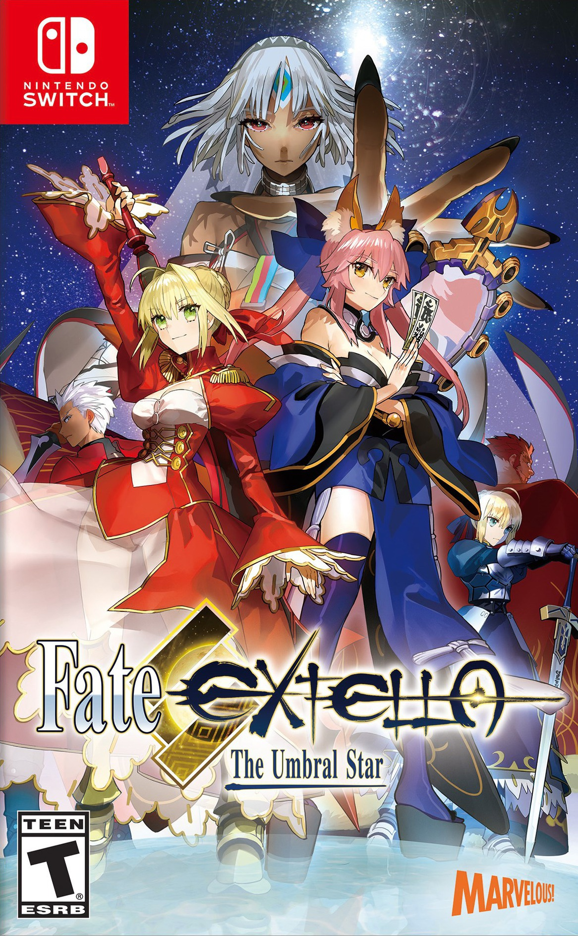 Fate/Extella: The Umbral Star Switch coverHQ (AC8QA)