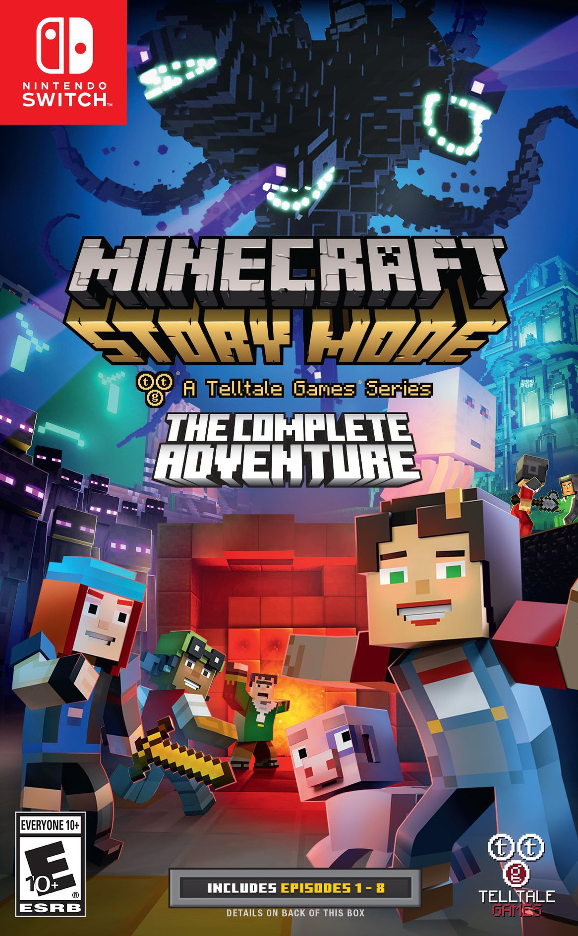 Minecraft: Story Mode - The Complete Adventure Switch coverHQ (ACS3A)