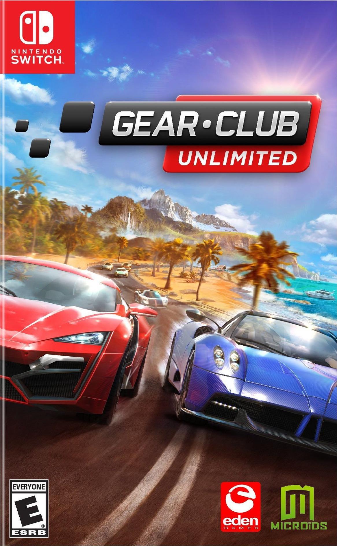 Gear.Club Unlimited Switch coverHQ (AD79B)