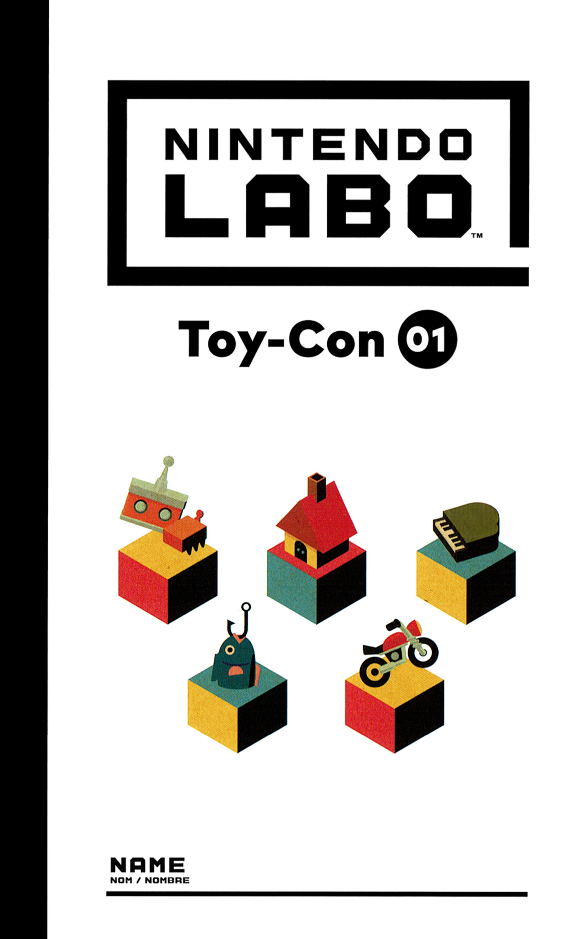 Nintendo Labo - Toy-Con 01: Variety Kit Switch coverHQ (ADFUA)