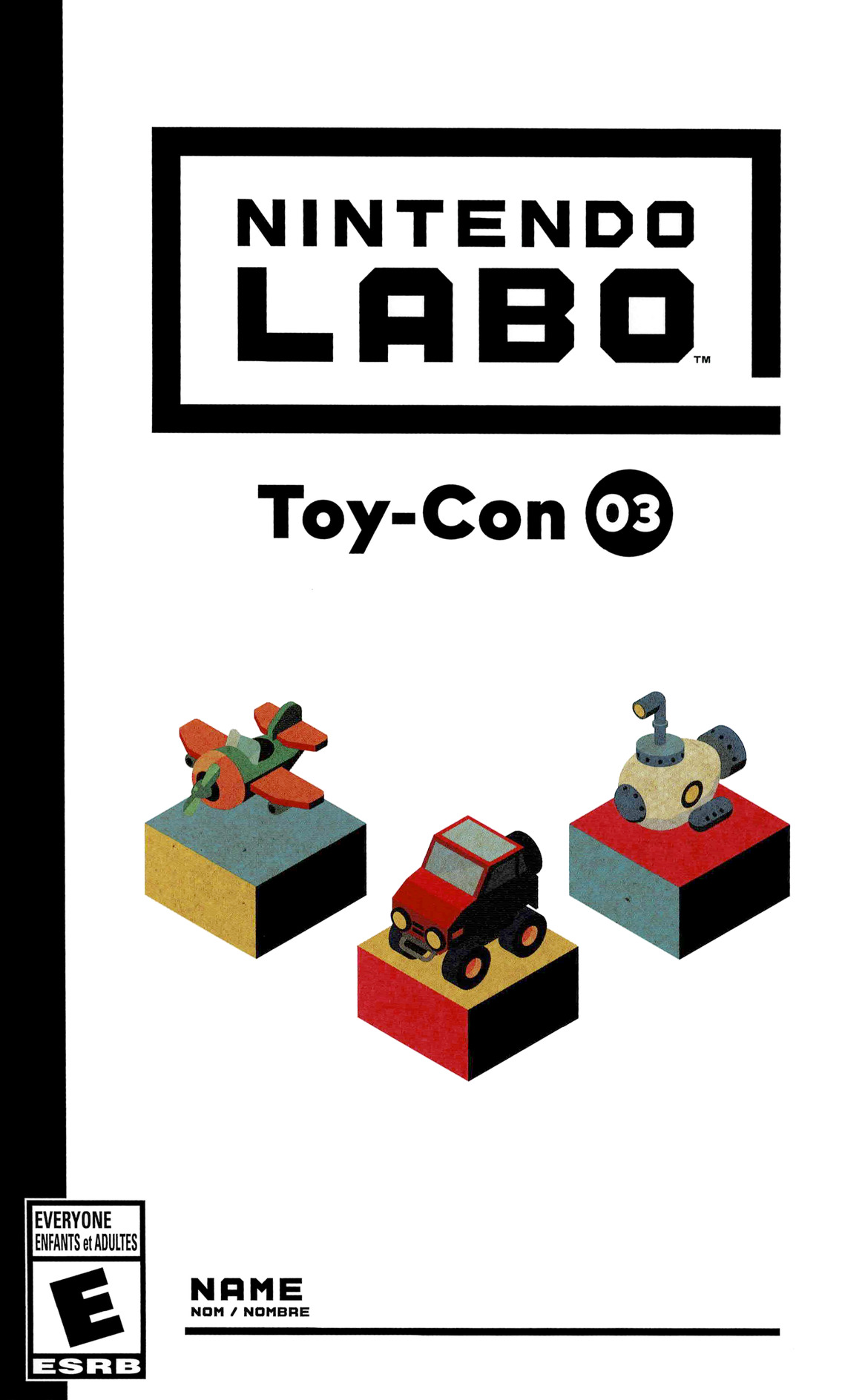 Nintendo Labo - Toy-Con 03: Vehicle Kit Switch coverHQ (ADFWA)