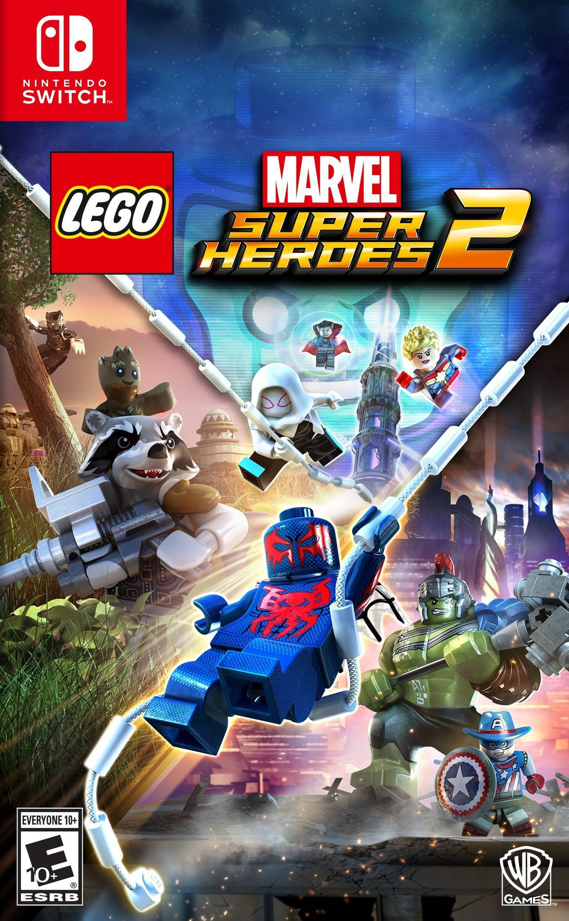 LEGO Marvel Super Heroes 2 Switch coverHQ (AEANA)