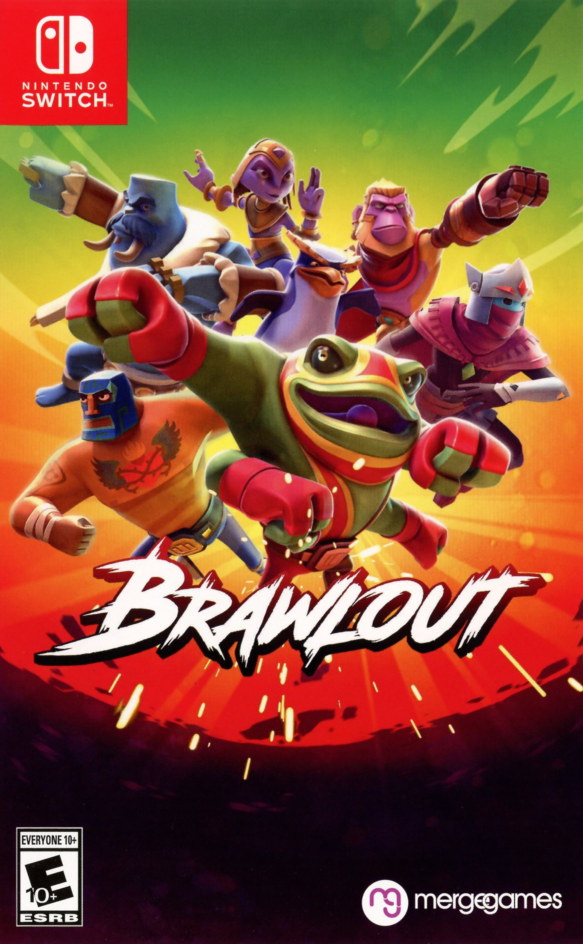 Brawlout Switch coverHQ (AEBNC)