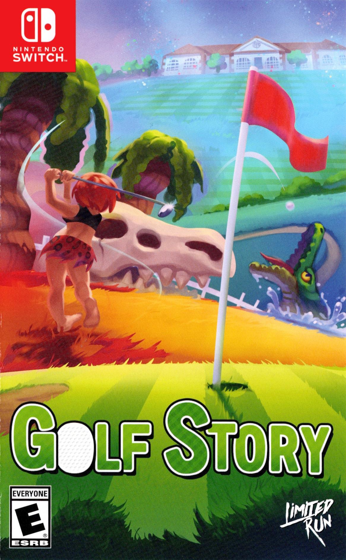 Golf Story Switch coverHQ (AECZC)