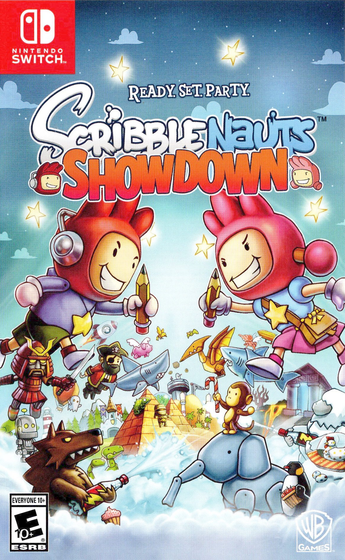 Scribblenauts Showdown Switch coverHQ (AEDXA)