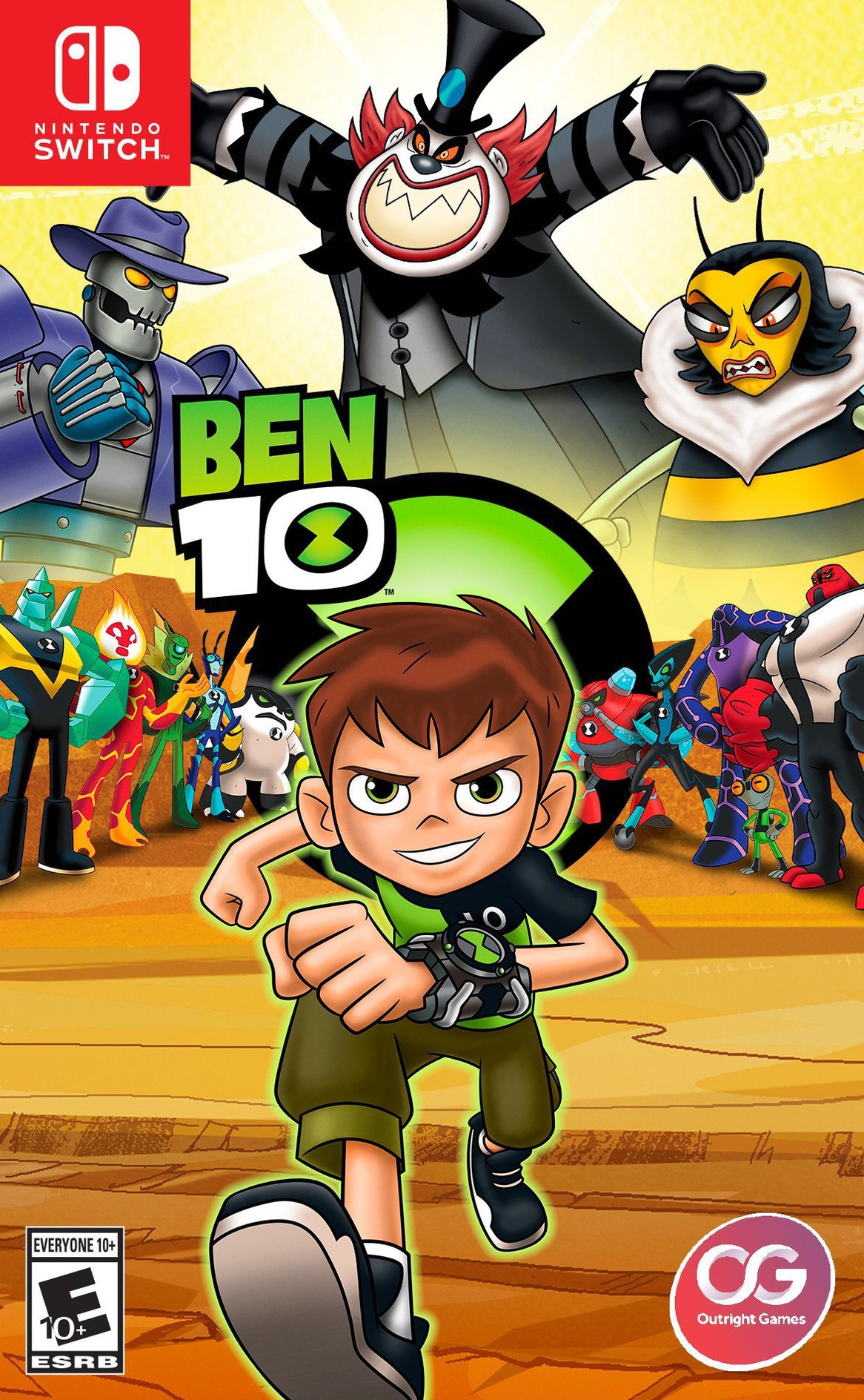 Ben 10 Switch coverHQ (AES8A)
