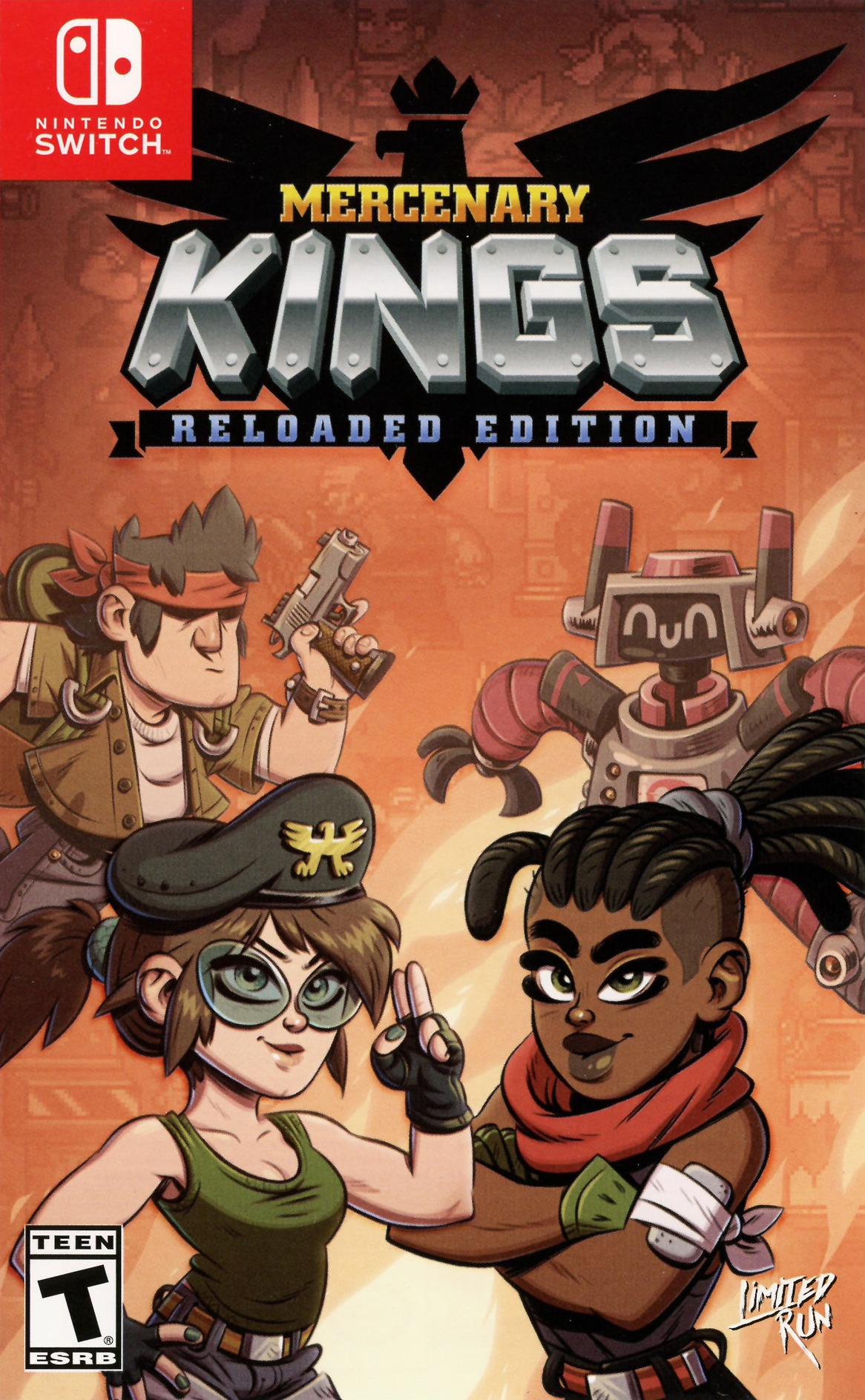Mercenary Kings Reloaded Switch coverHQ (AEUWA)