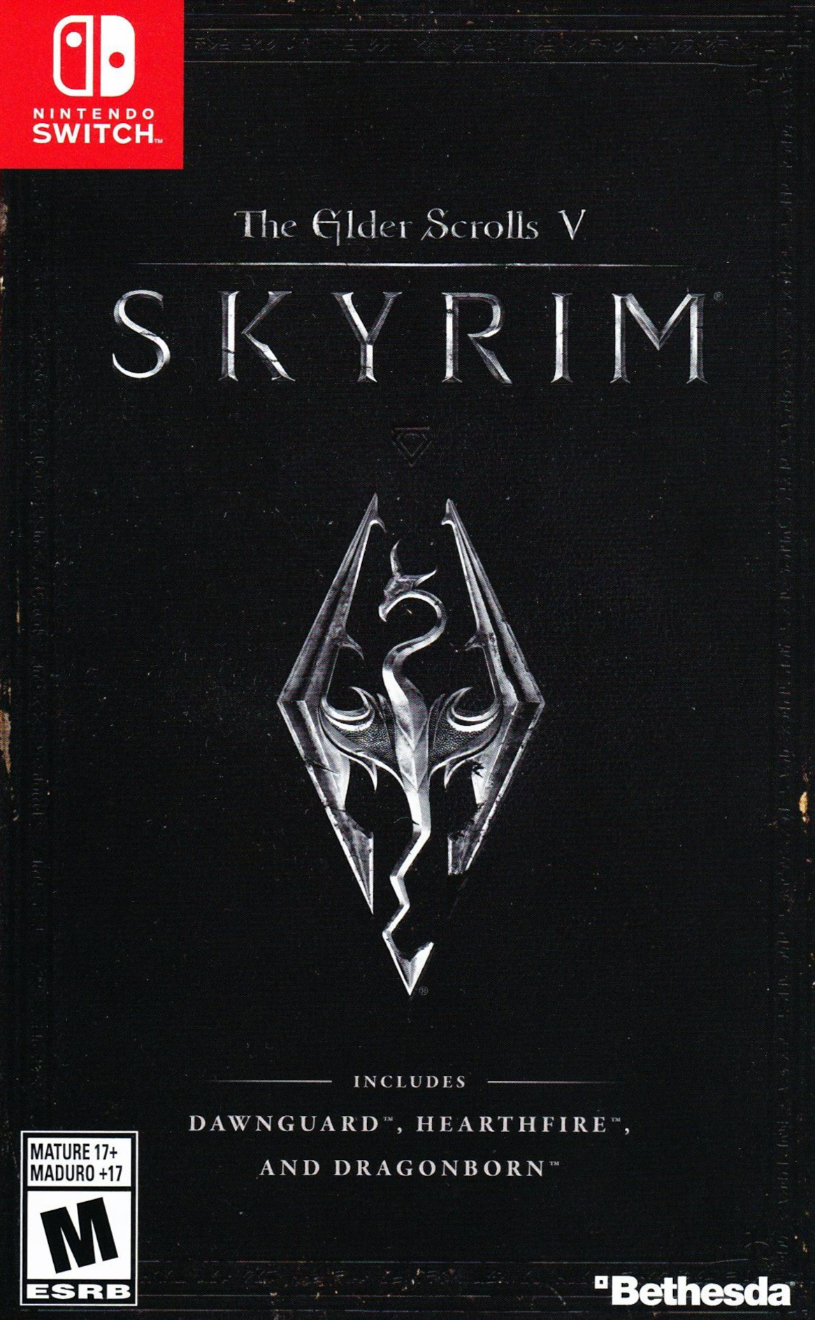 The Elder Scrolls V: Skyrim Switch coverHQ (AF3CA)